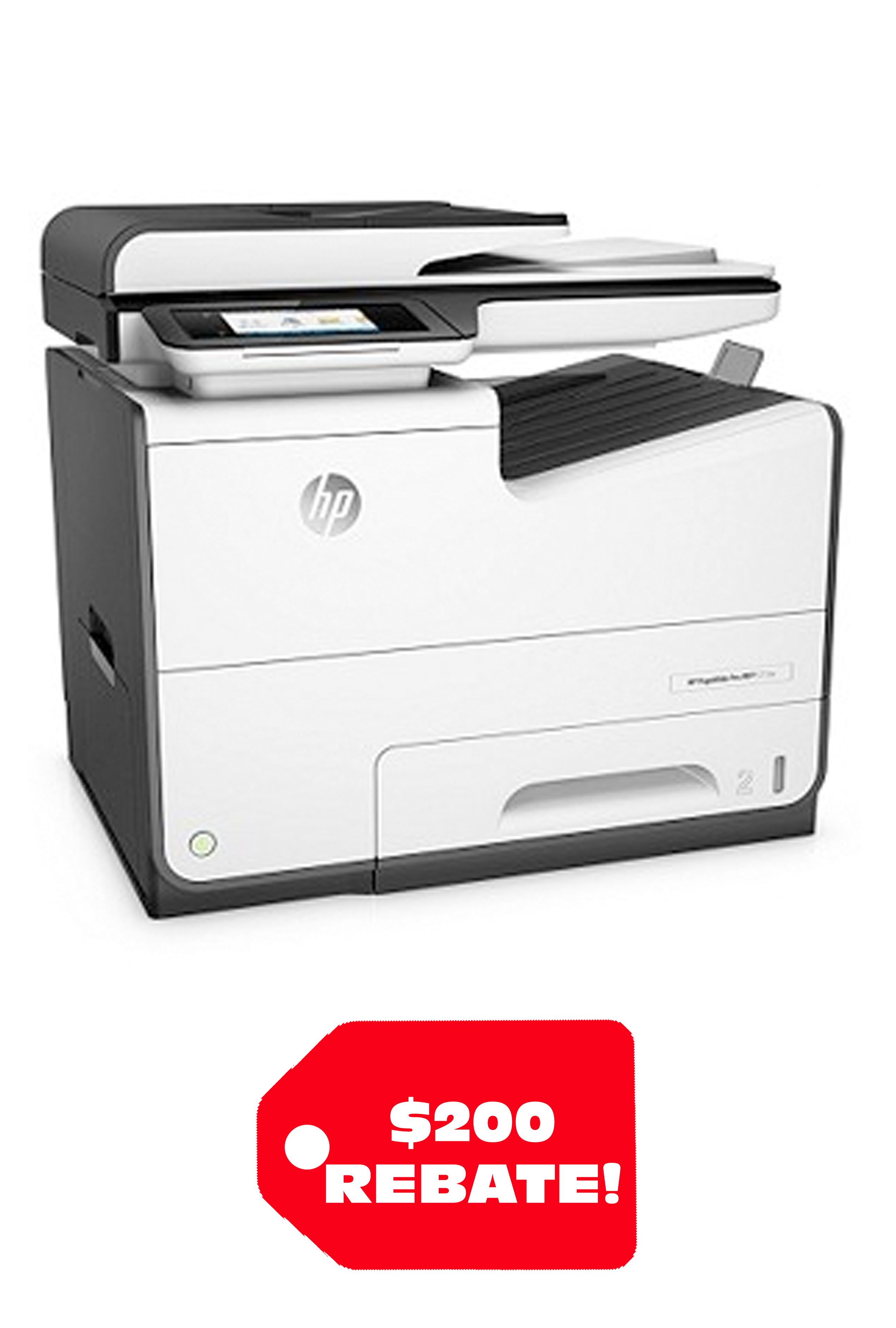 HP PageWide Pro 577dw Multifunction Printer 70 ppm Print/...