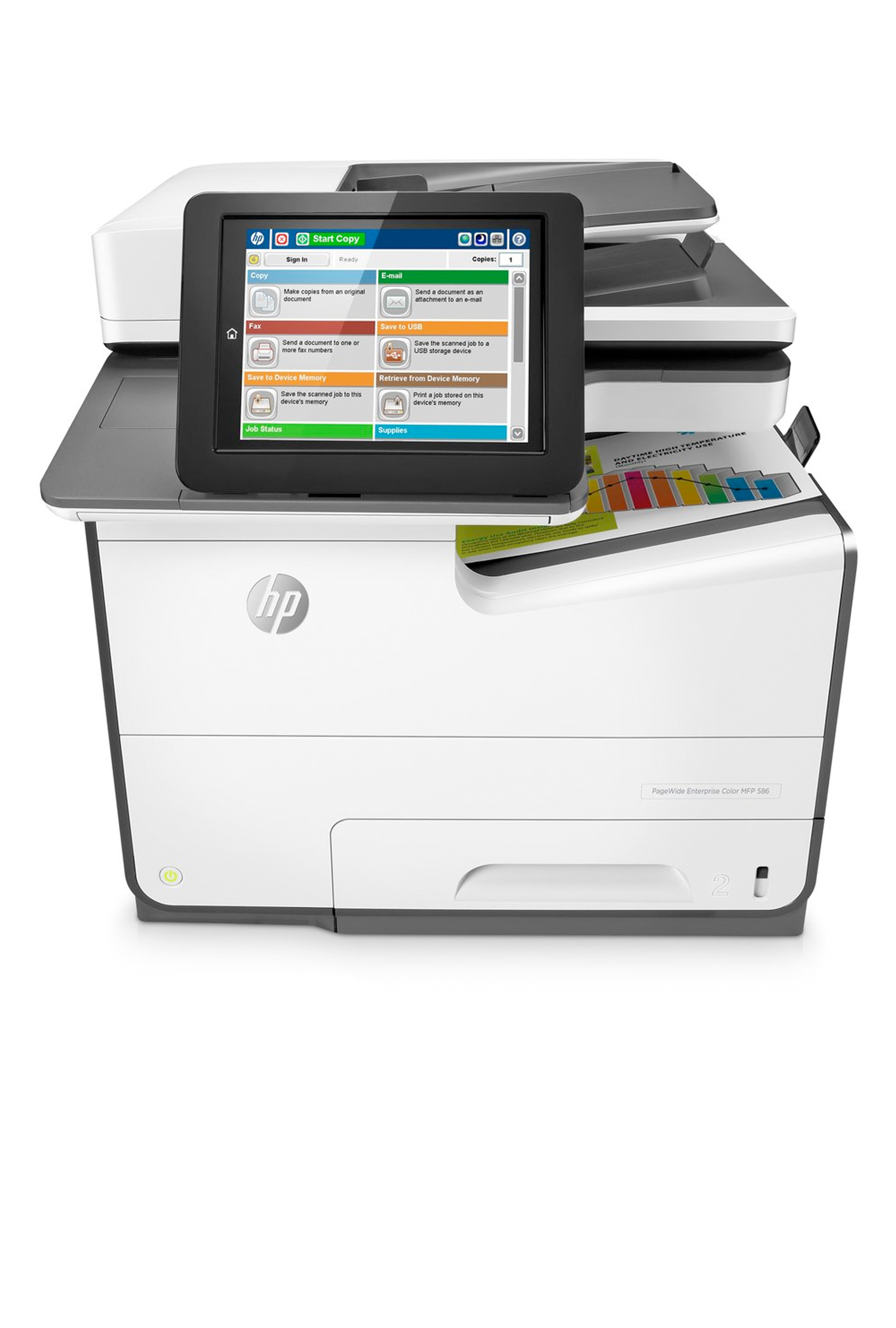 HP PAGEWIDE ENTERPRISE COLOR MFP 586F (50PPM)