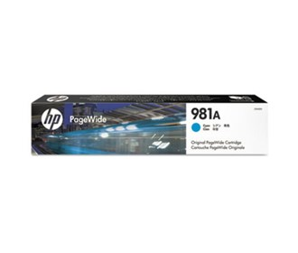 HP Cyan Original PageWide Cartridge for US Government (16 000...