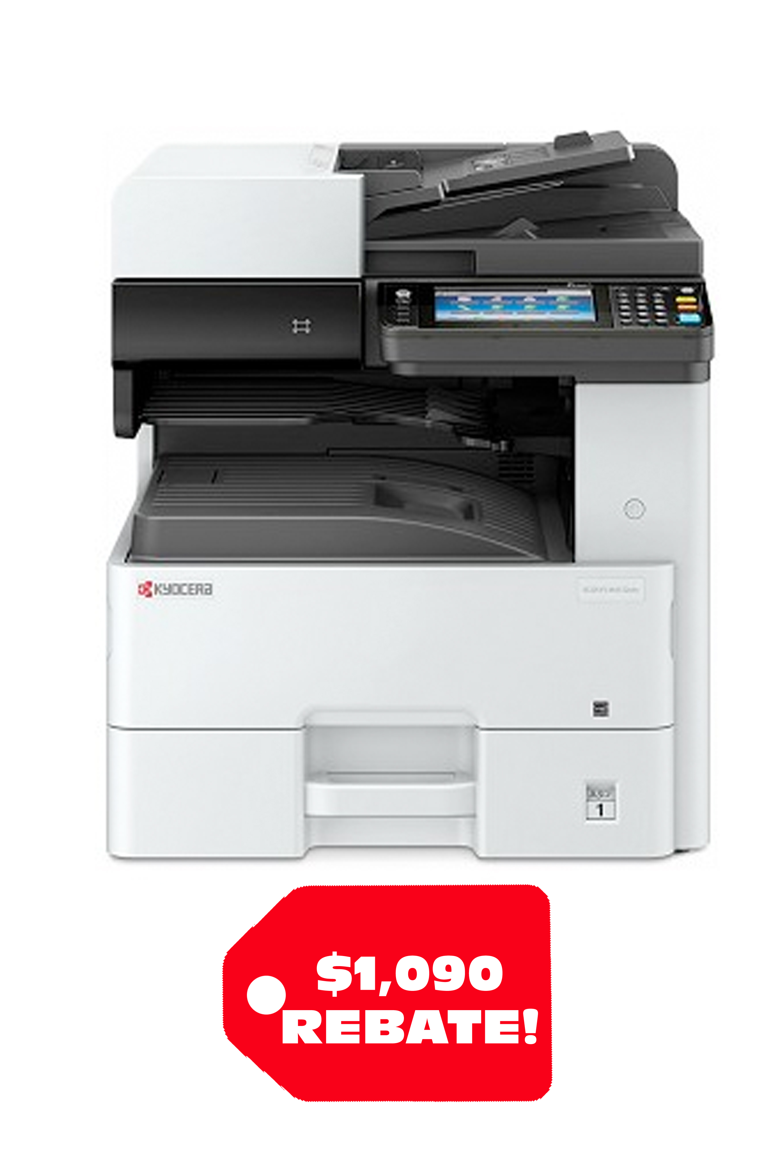 Kyocera ECOSYS M4132idn A3 B&W MFP (32ppm) Package