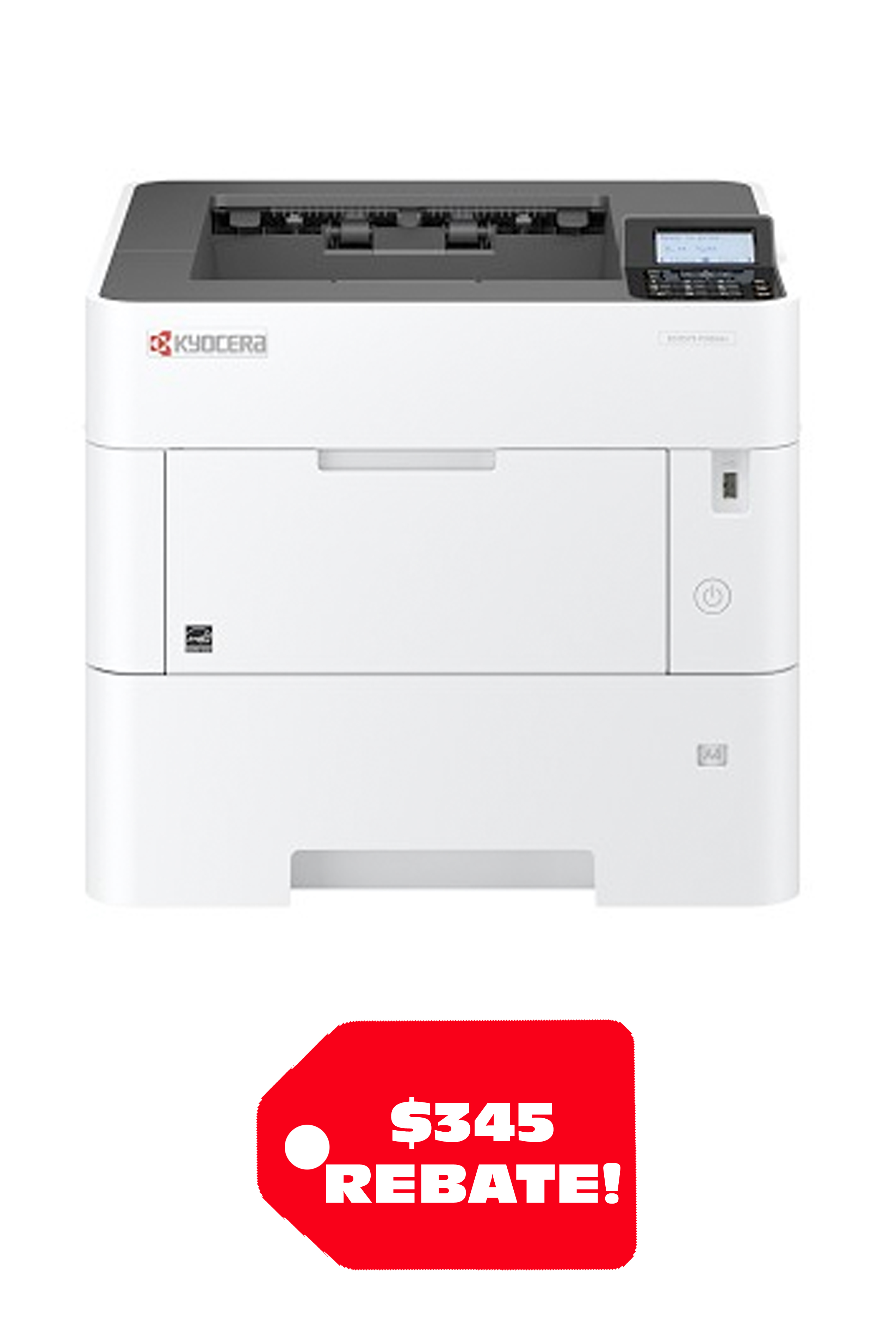 Kyocera ECOSYS P3155DN 57PPM DESKTOP MONOCHROME NETWORK PRINTER