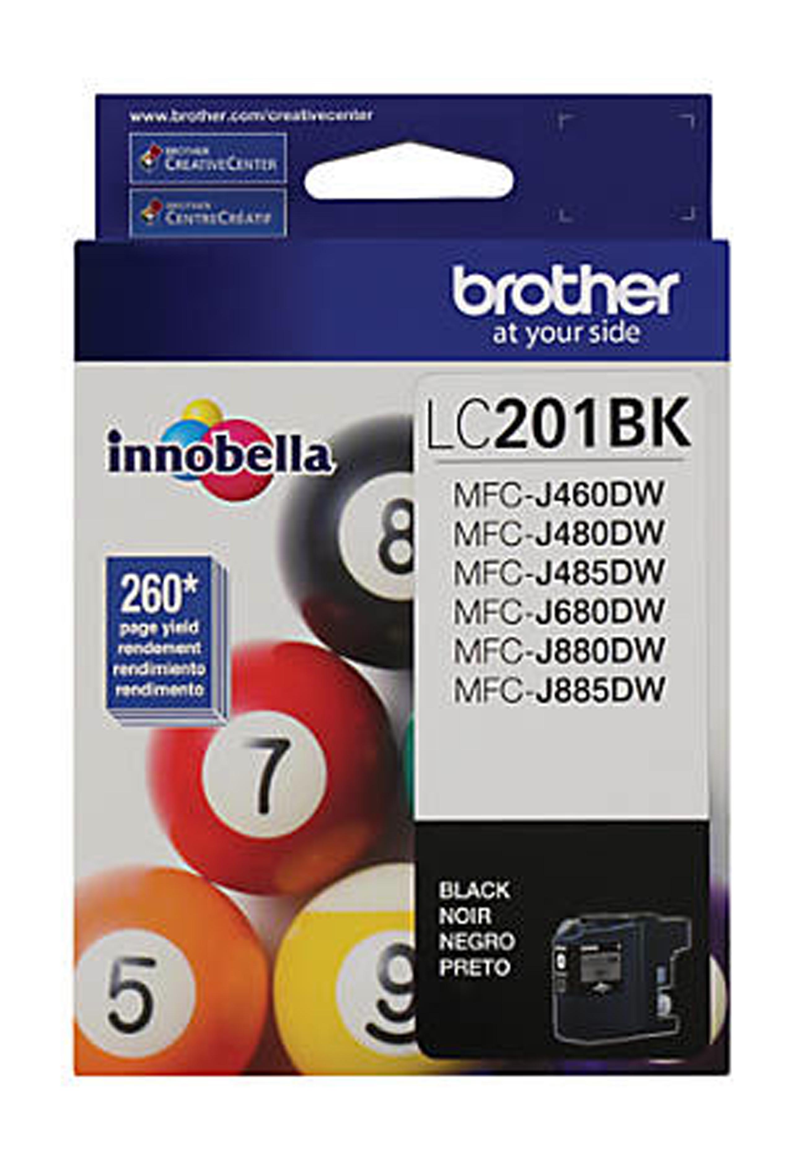 Brother Black Ink Cartridge (LC201BKS)