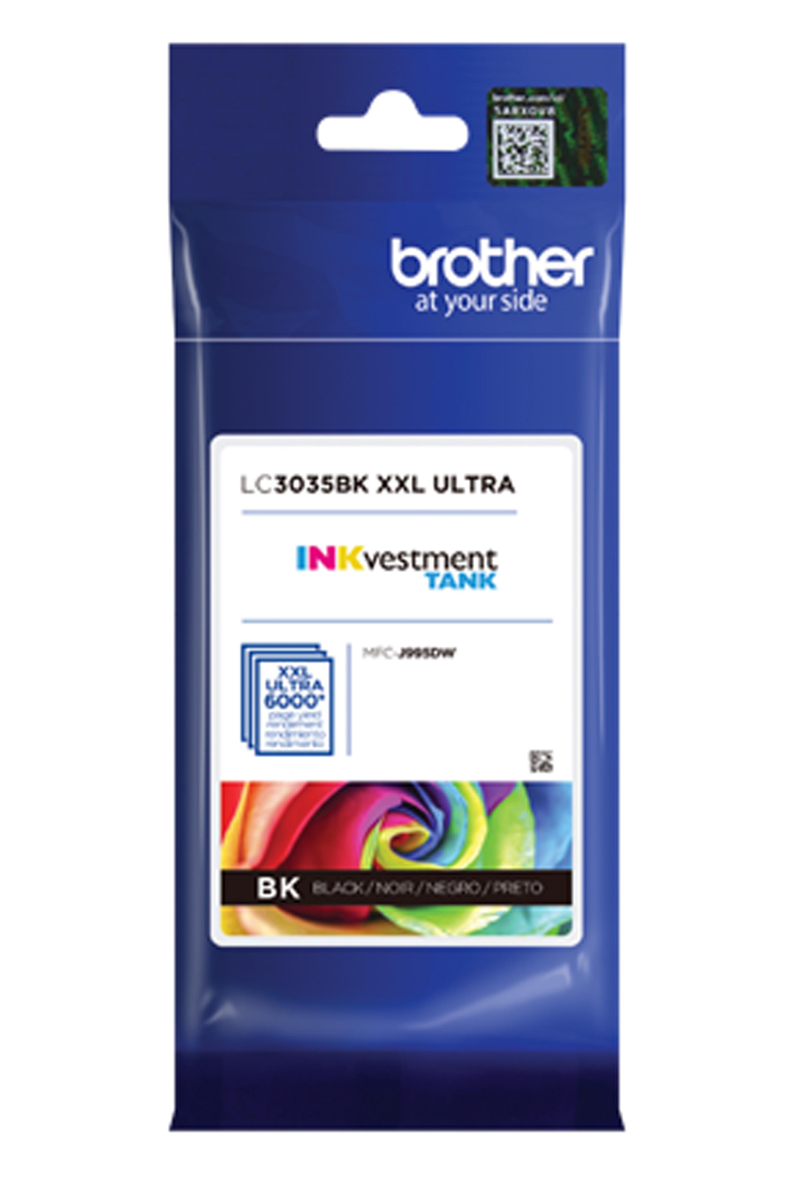 Brother Ultra High Yield Black Ink Cartridge ( LC3035BK)