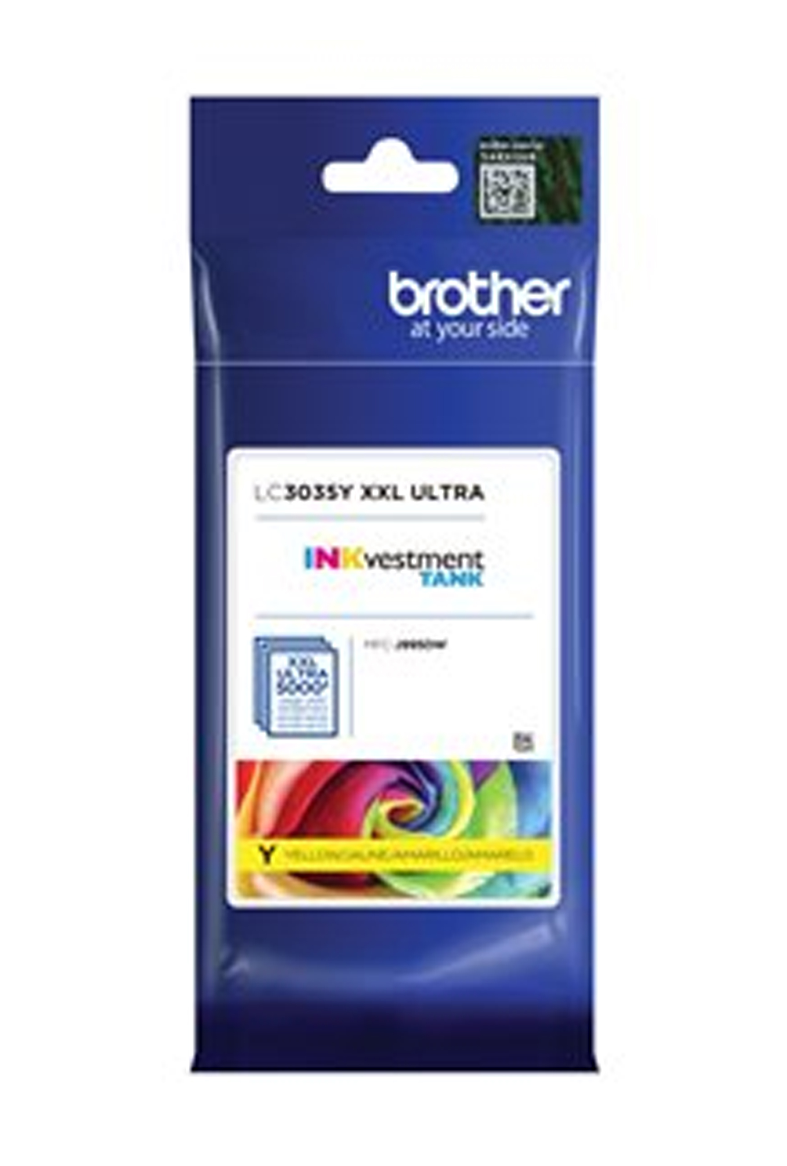 Brother Ultra High Yield Yellow Ink Cartridge (LC3035Y)