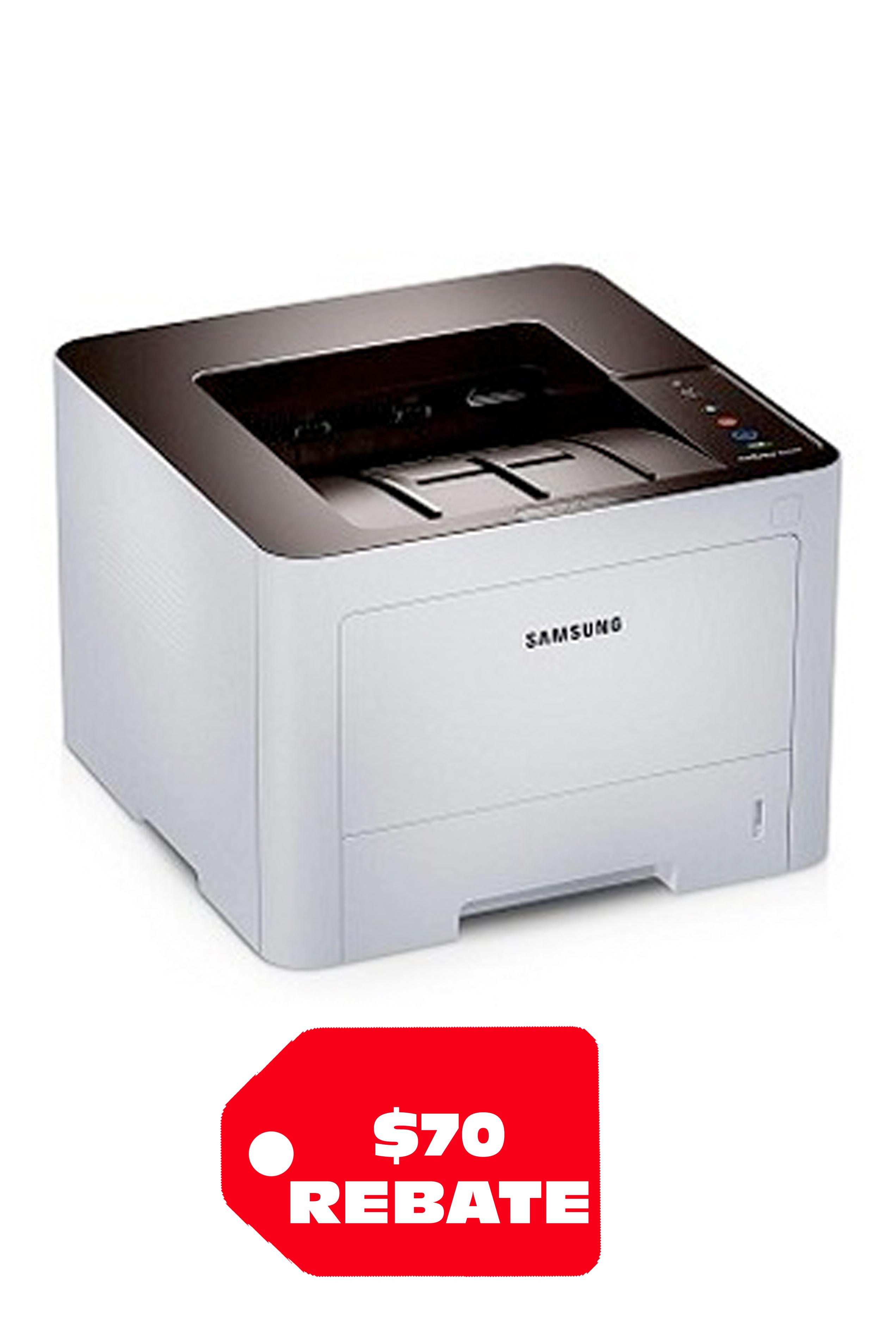 Samsung Xpress M3820DW Black & White Desktop Laser Printer (40ppm)
