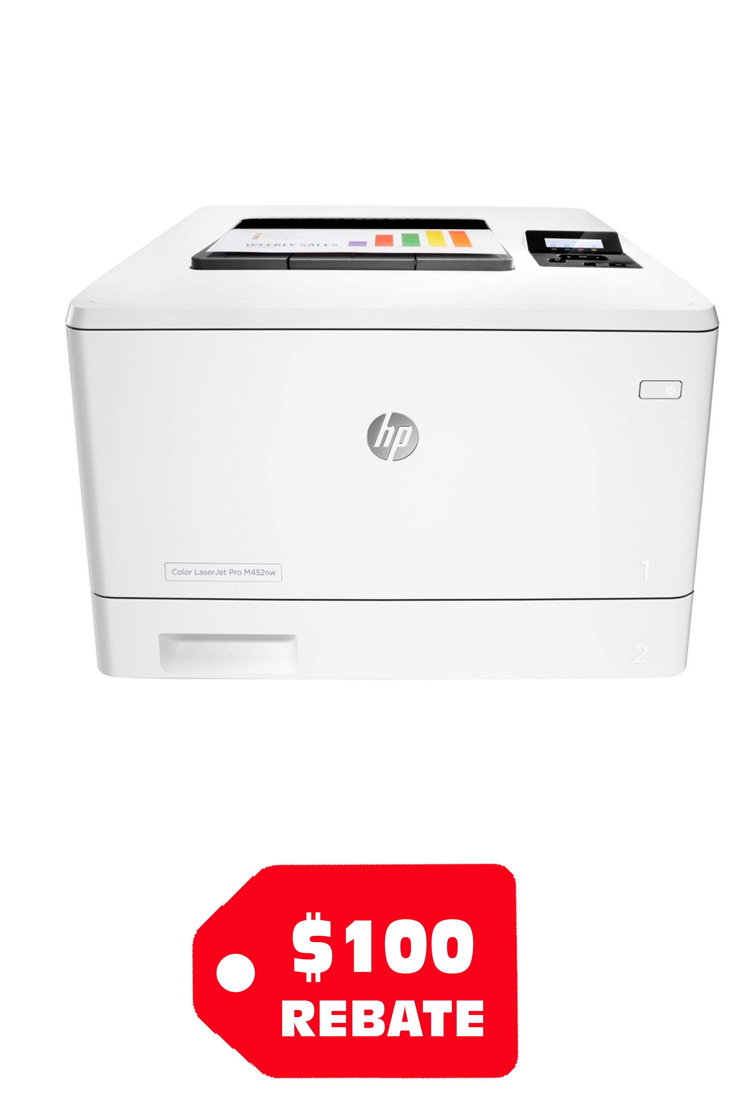 HP Color LaserJet Pro M452nw...