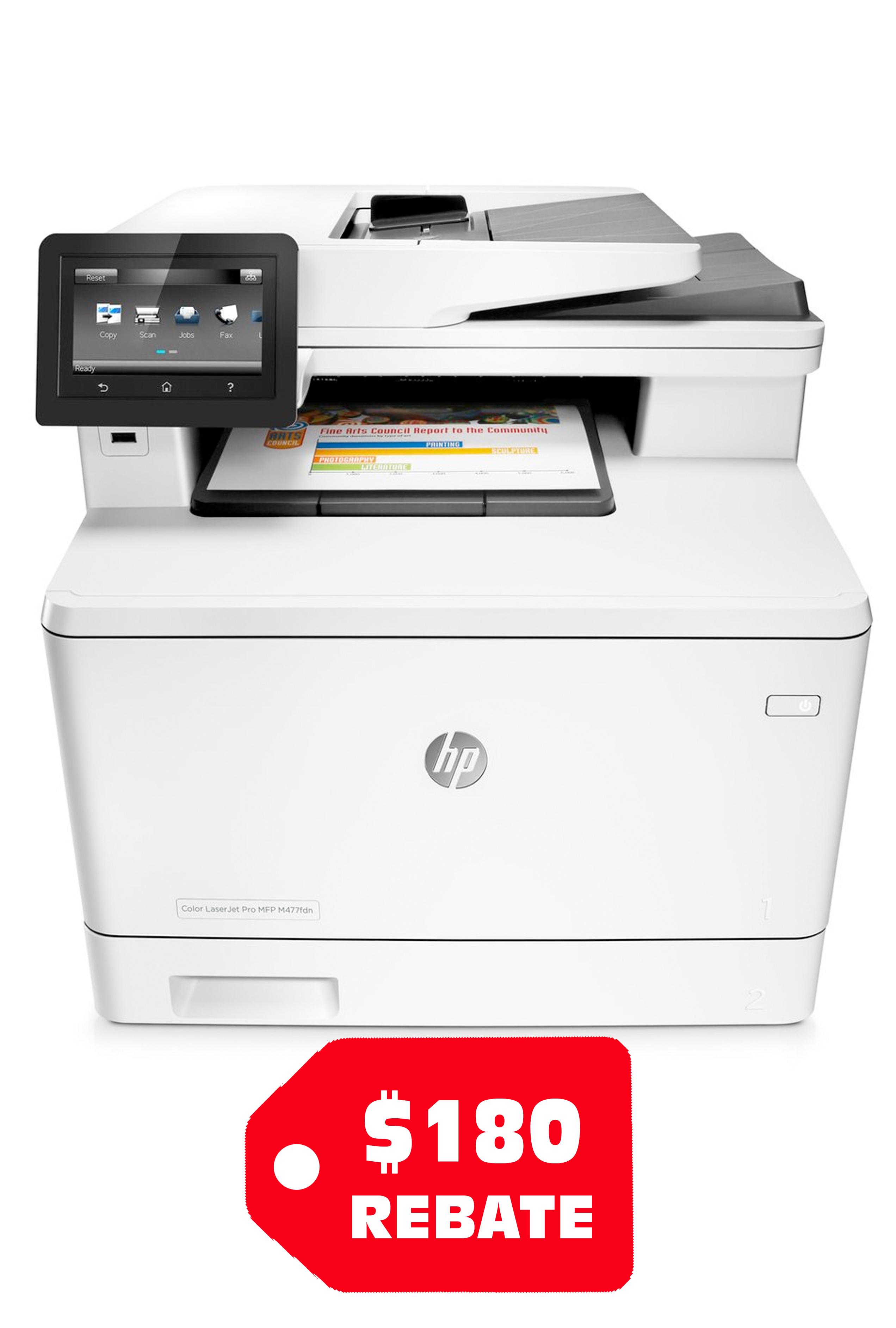 HP Color LaserJet Pro M477fdn...