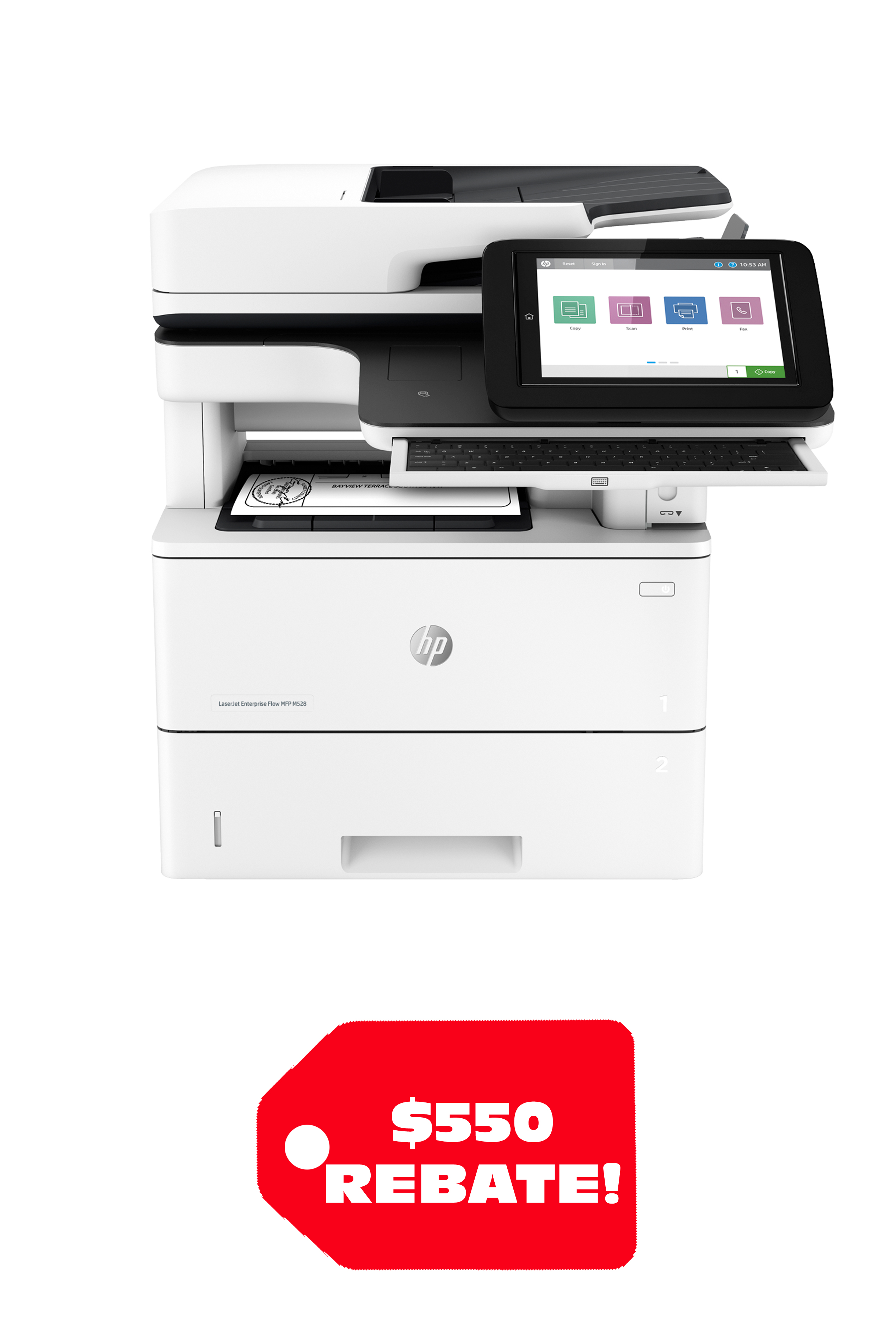 HP LASERJET ENTERPRISE MFP M528C (45ppm)