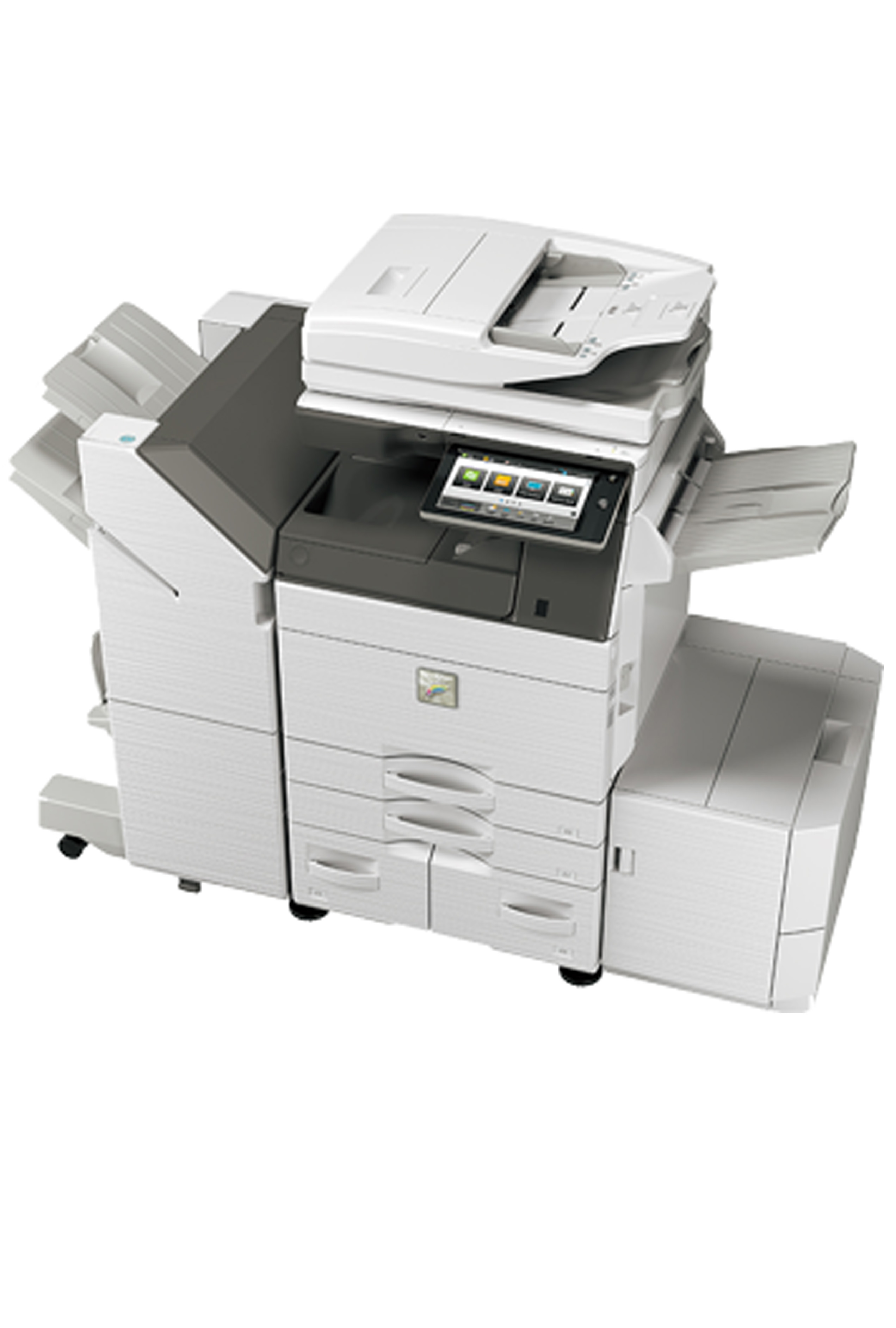Sharp MX-5070V Color Desktop Laser Multifunction Copier...
