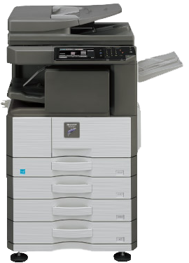 Sharp MX-M266N Desktop Monochrome Multifunction Laser Copier...