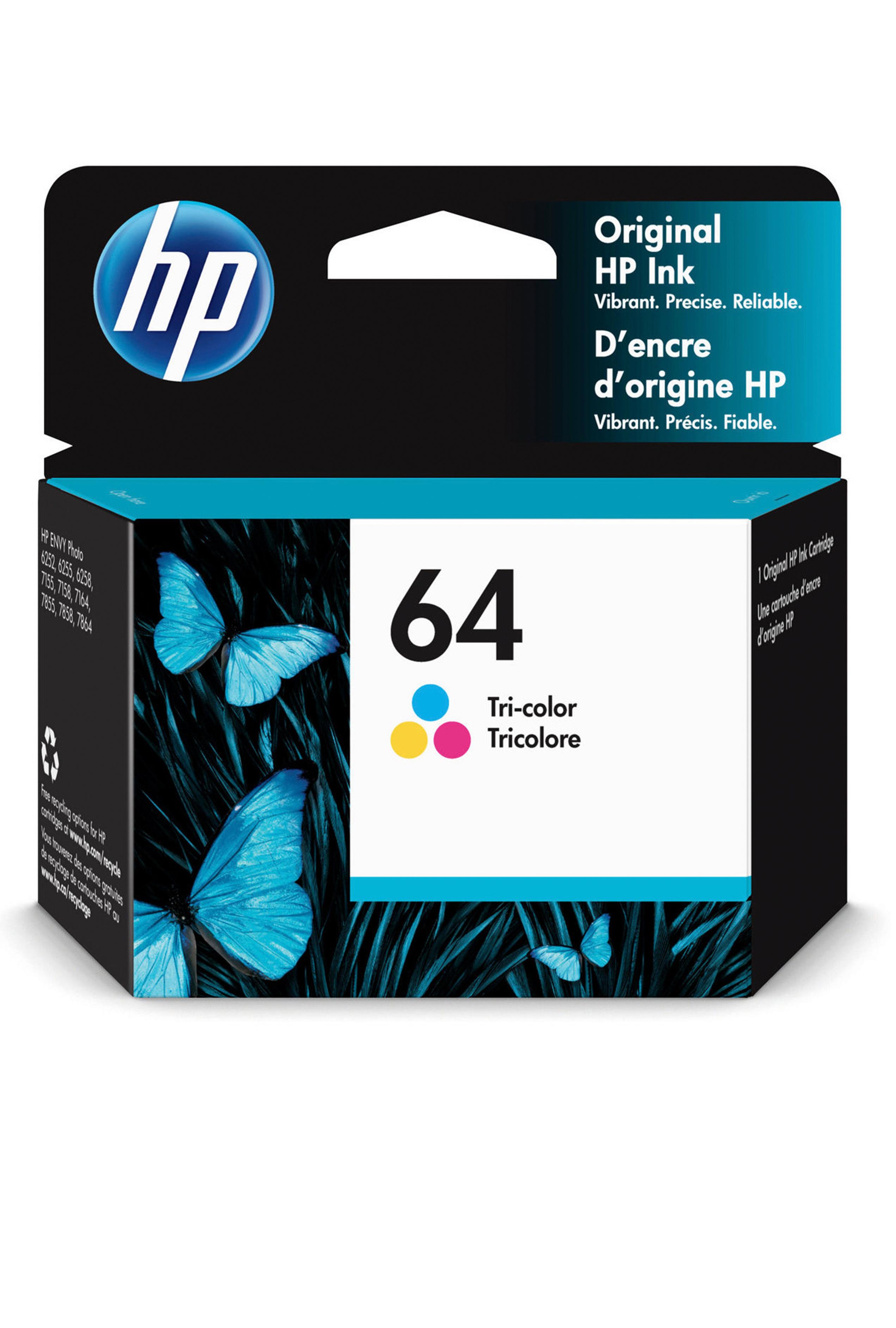 HP TRI-COLOR INK CARTRIDGE (N9J89AN)