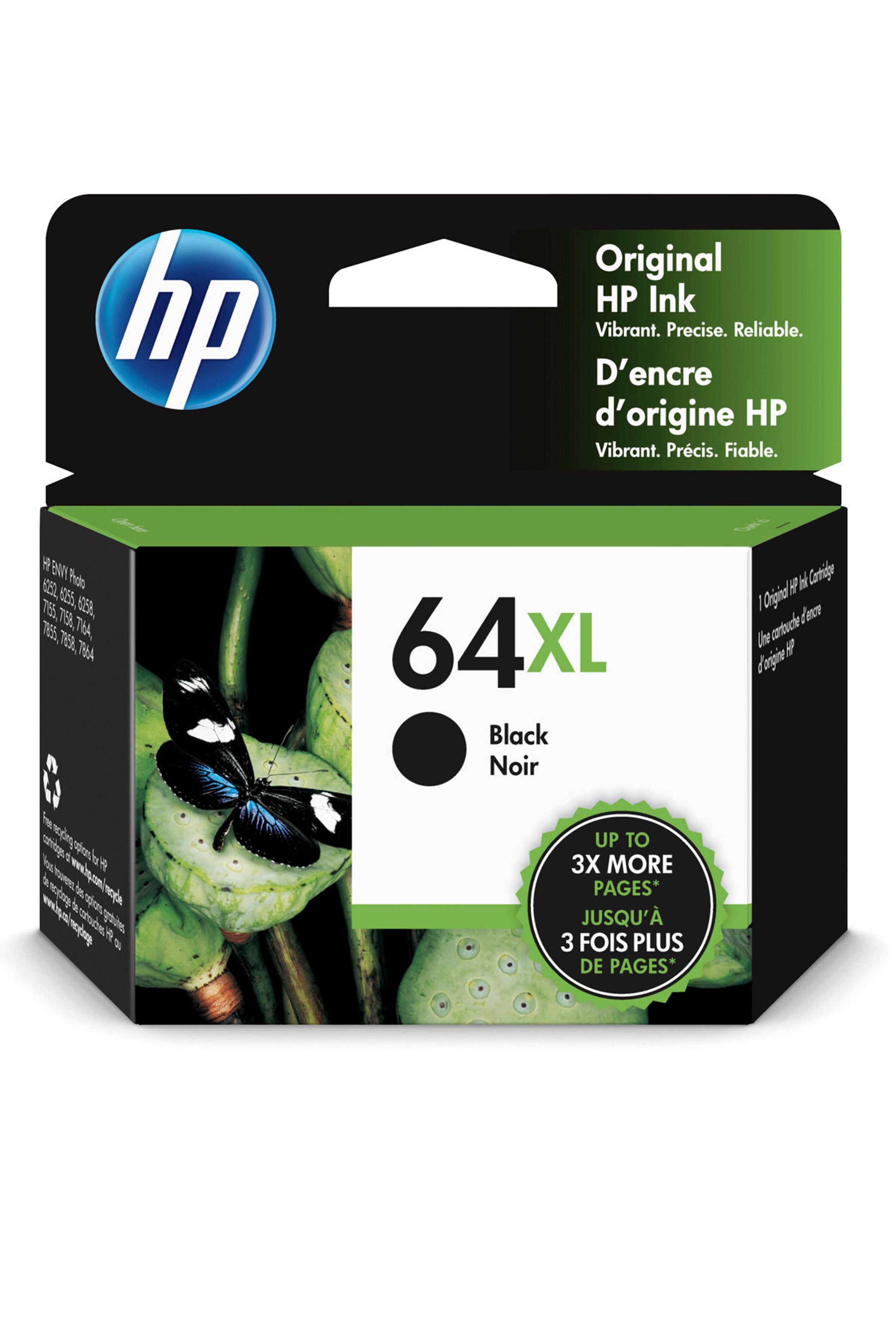 HP 64XL BLACK INK (N9J92AN)