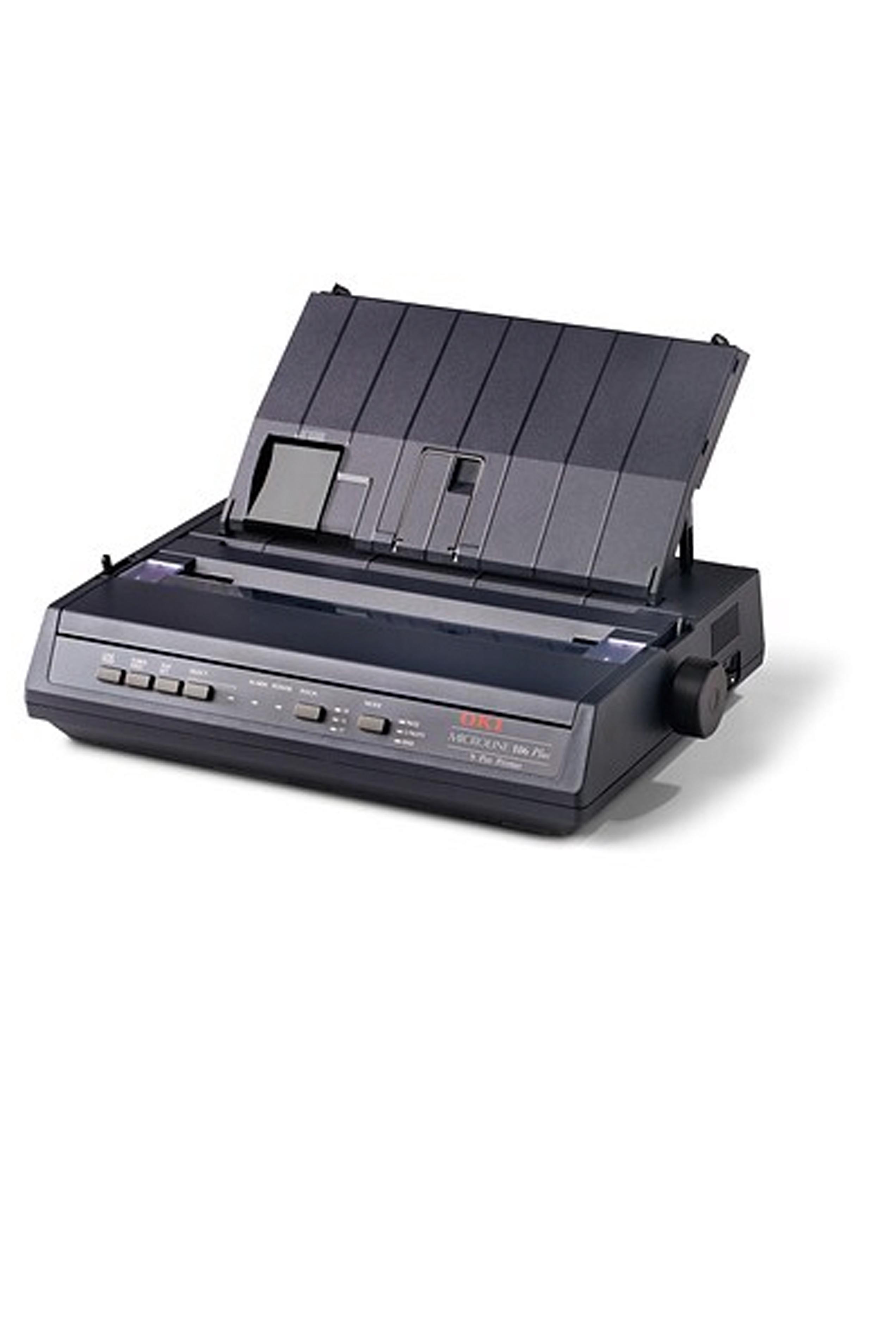 Okidata ML186PLUS Black, Parallel Printer (62448701)