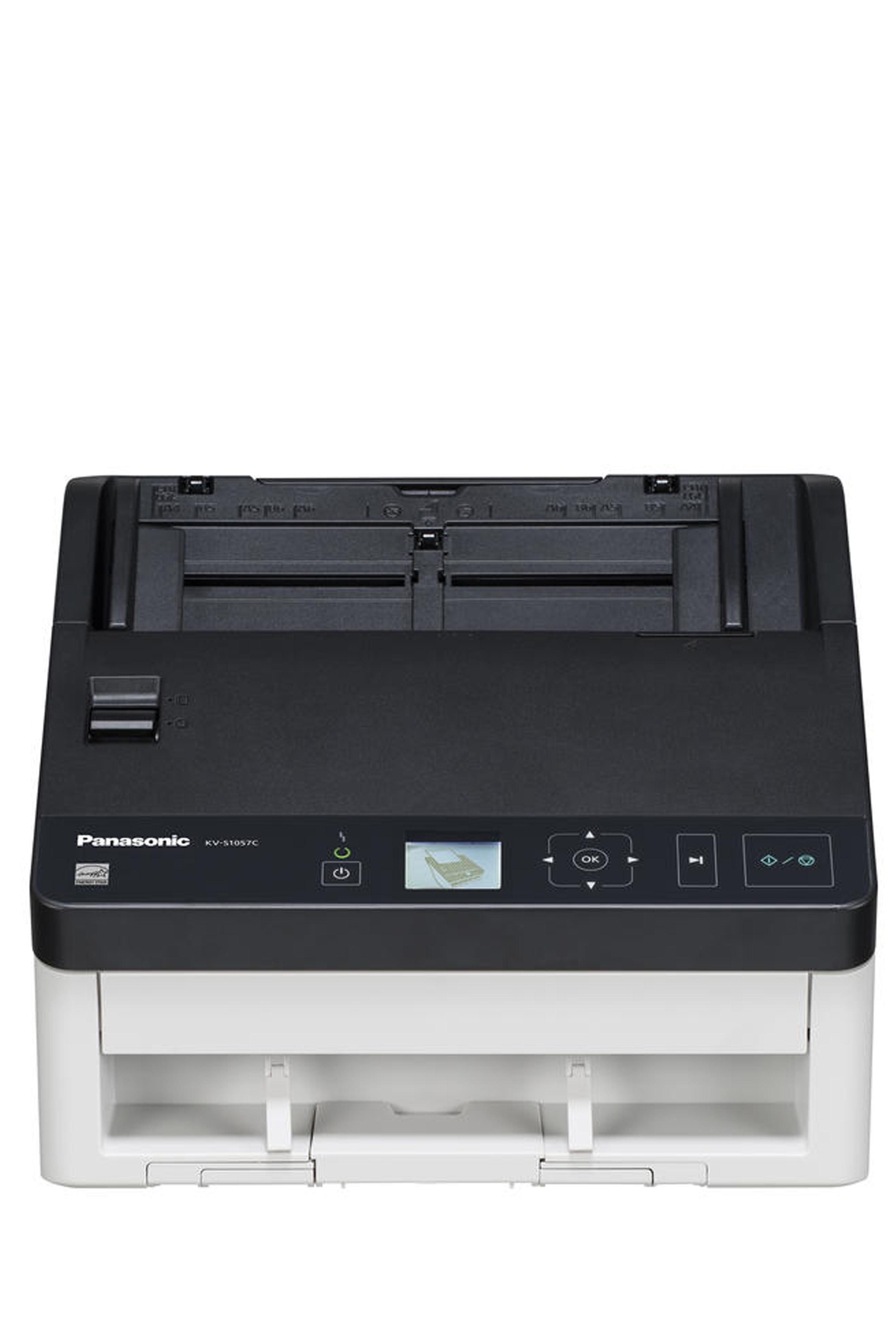 Panasonic KV-S1057CV Color Sheetfed Scanner Bundle (65ppm)