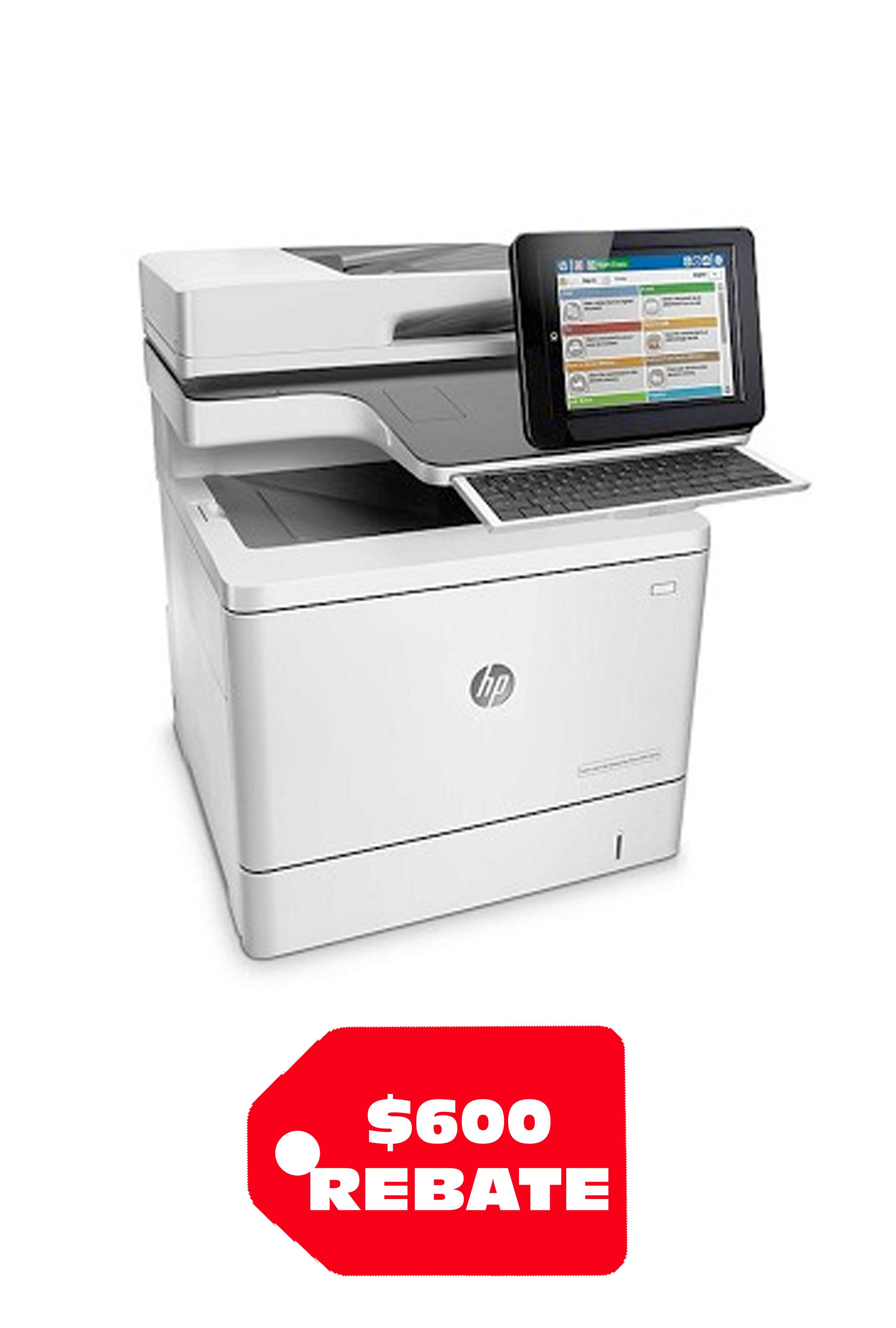 HP Color LaserJet Enterprise Flow M577c 40ppm/ 40ppm...