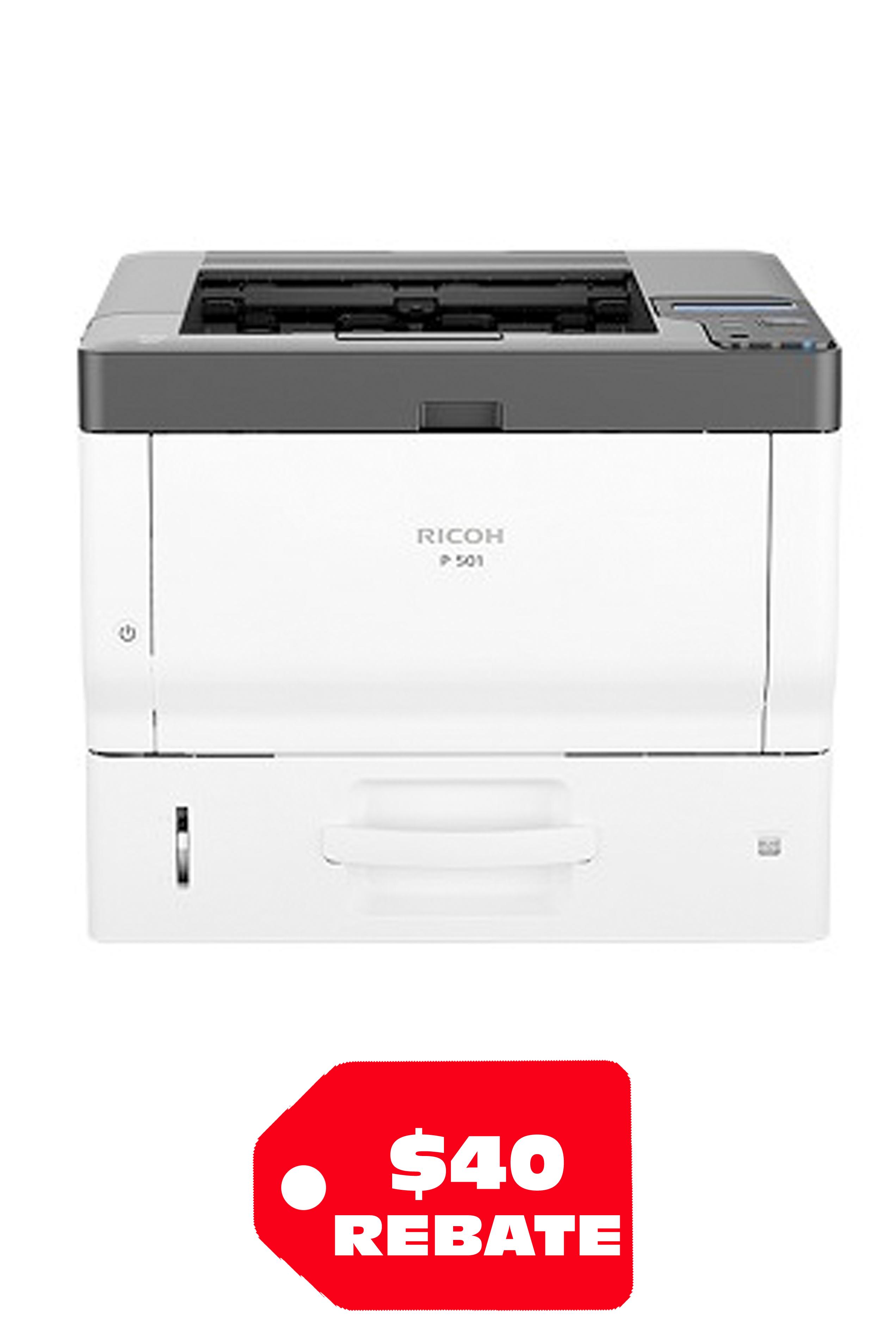Ricoh RICOH P501 A4 B&W LASER PRINTER (45PPM)