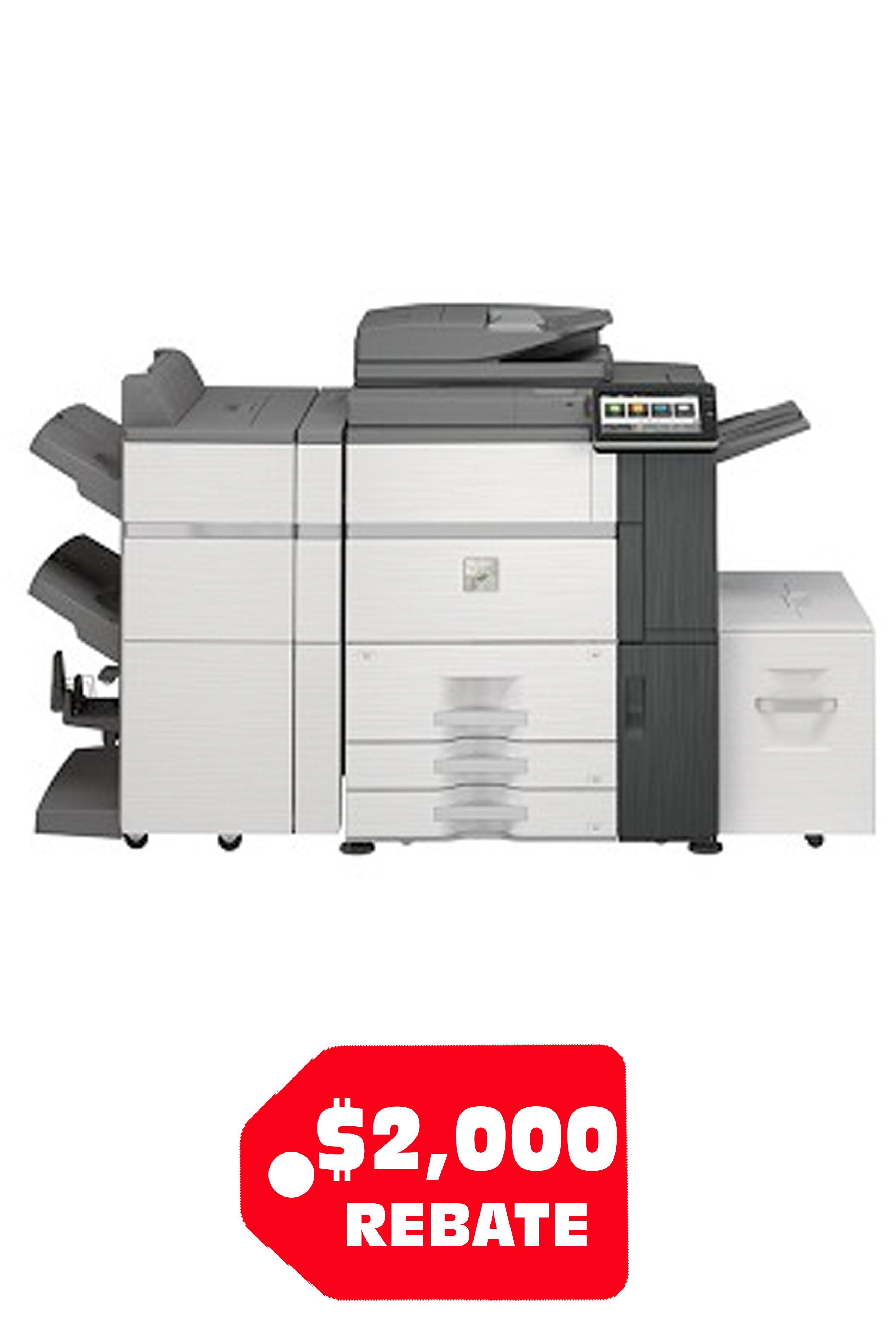 Sharp SHARP MX-7580N High Speed Color Document (75ppm/75ppm)