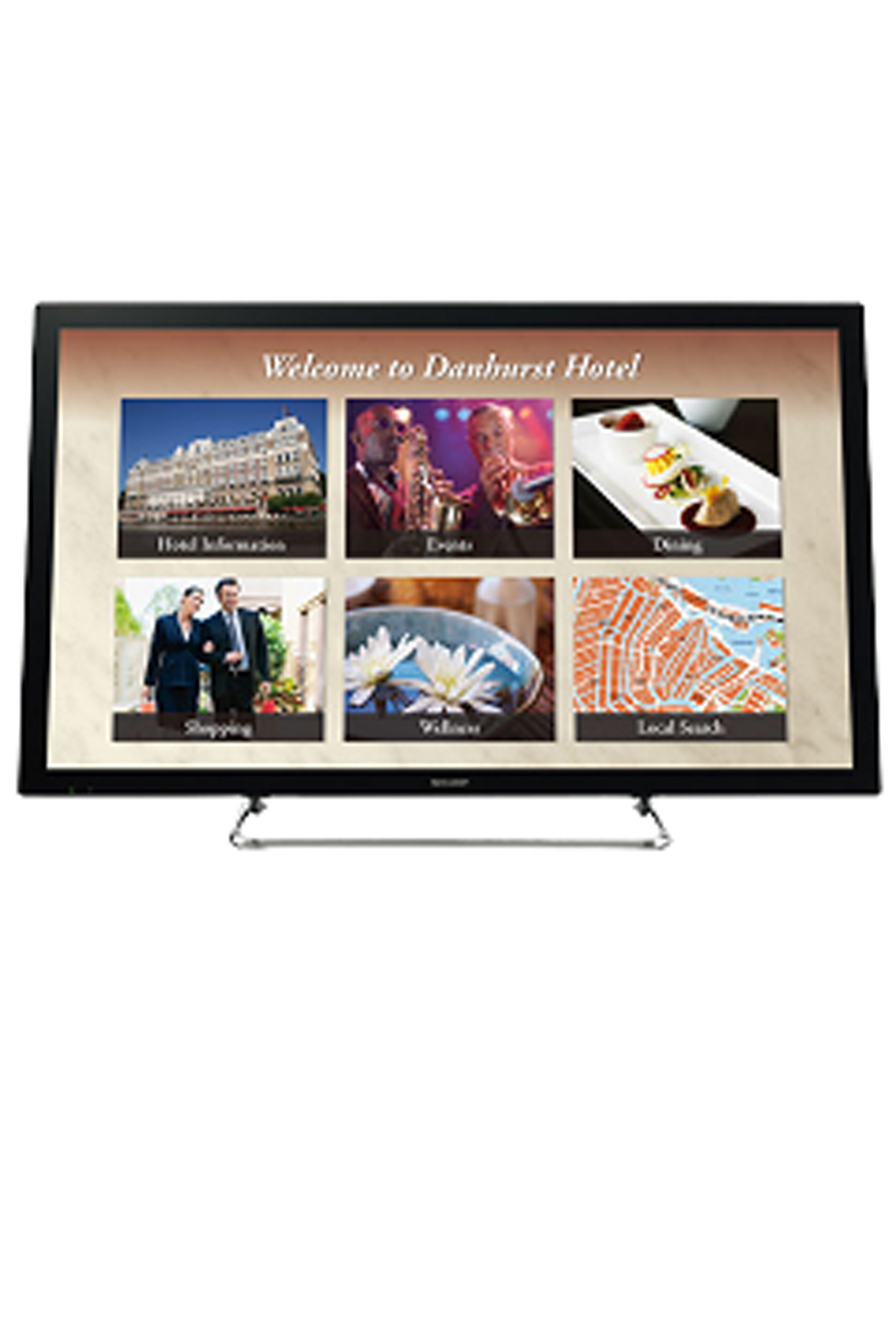 Sharp PN-L401C 40IN 1080P HD Aquos Board Touch Display 10pt