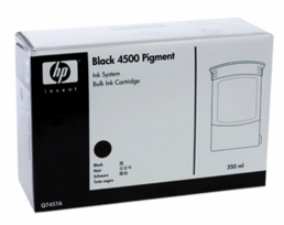 HP 4500 Pigment Bulk Ink Supply Black (350 ml) (Q7457A)