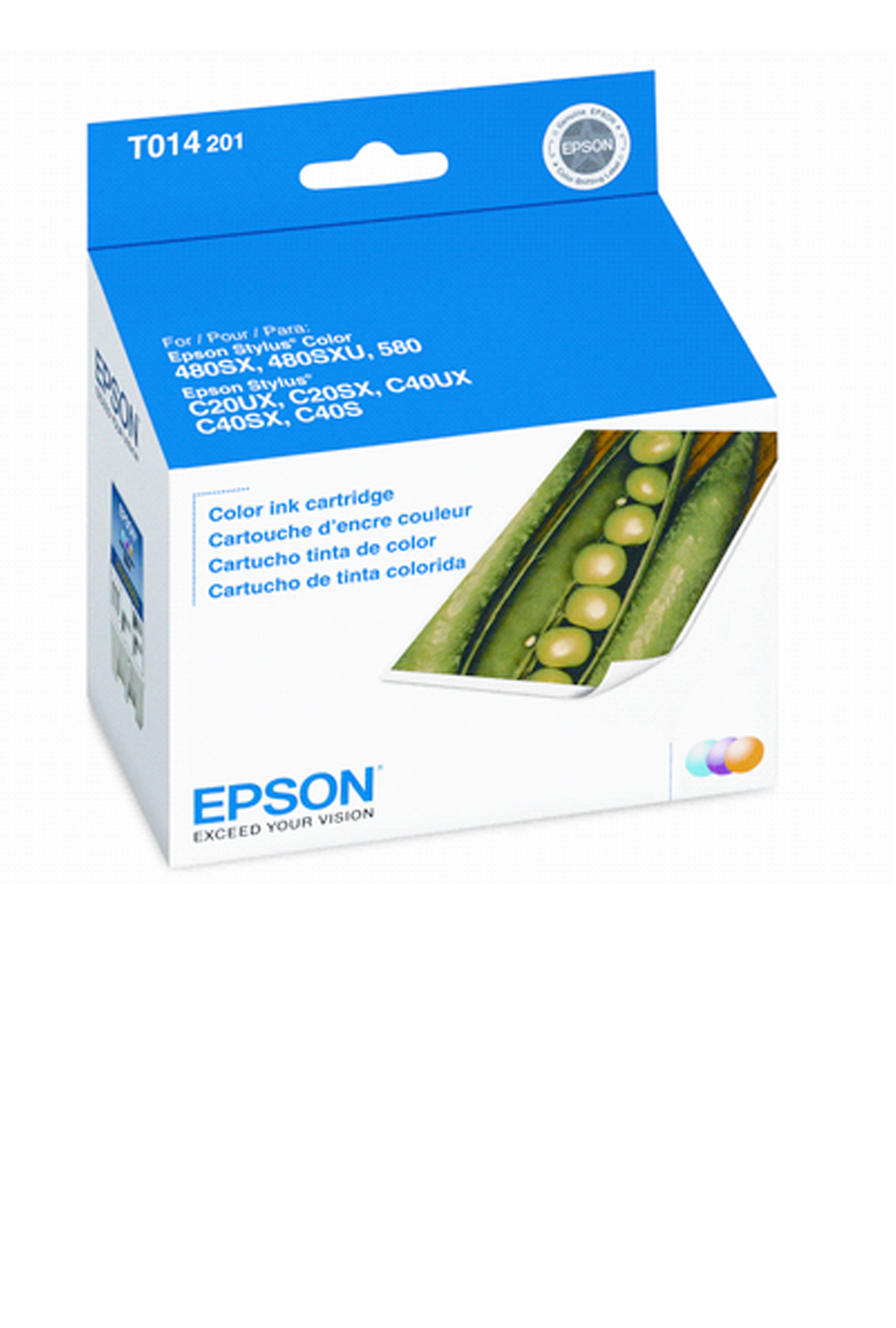 Epson EPSON SD COLOR INK (180) (T014201)