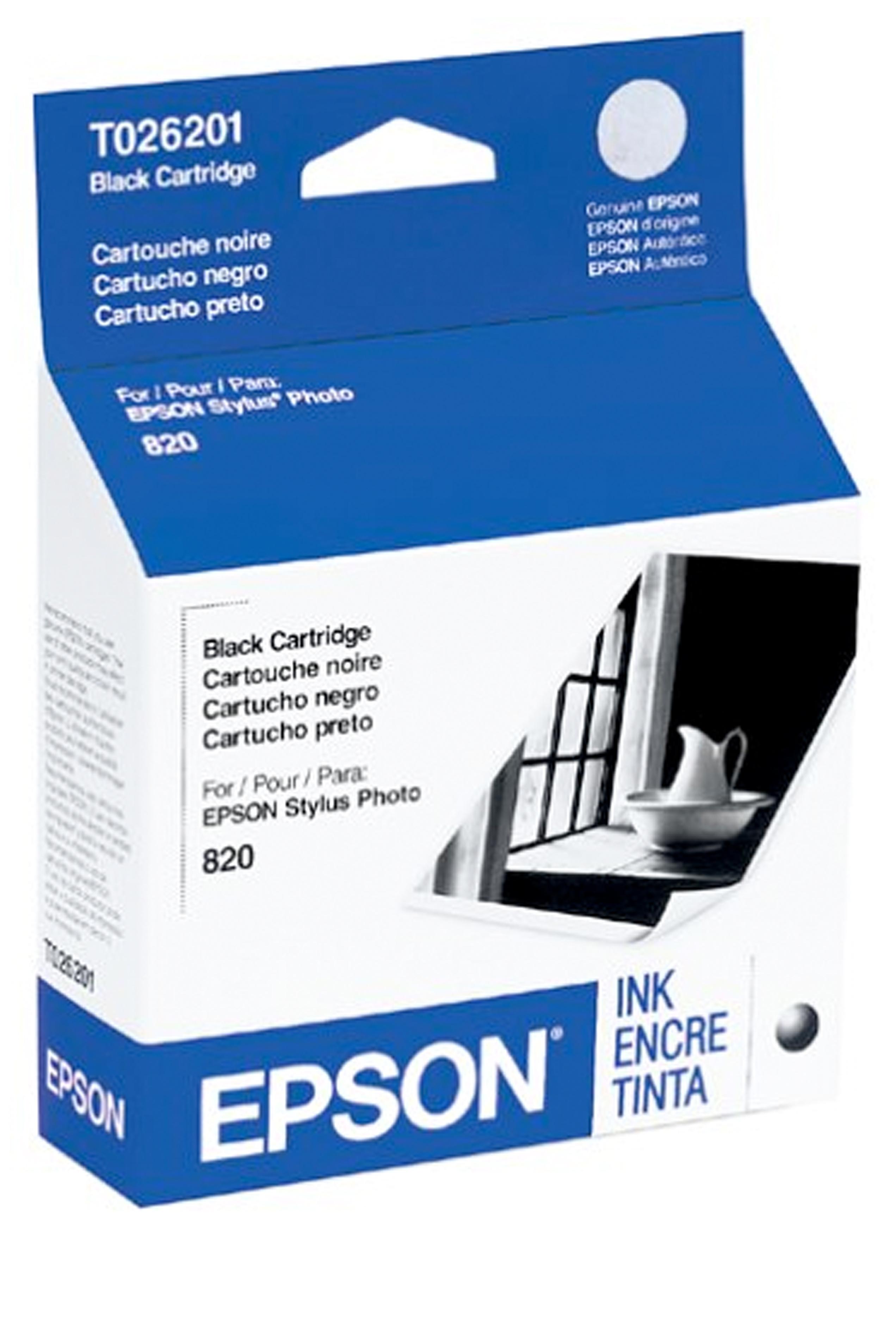 Epson EPSON SD BLACK INK (500) (T026201)