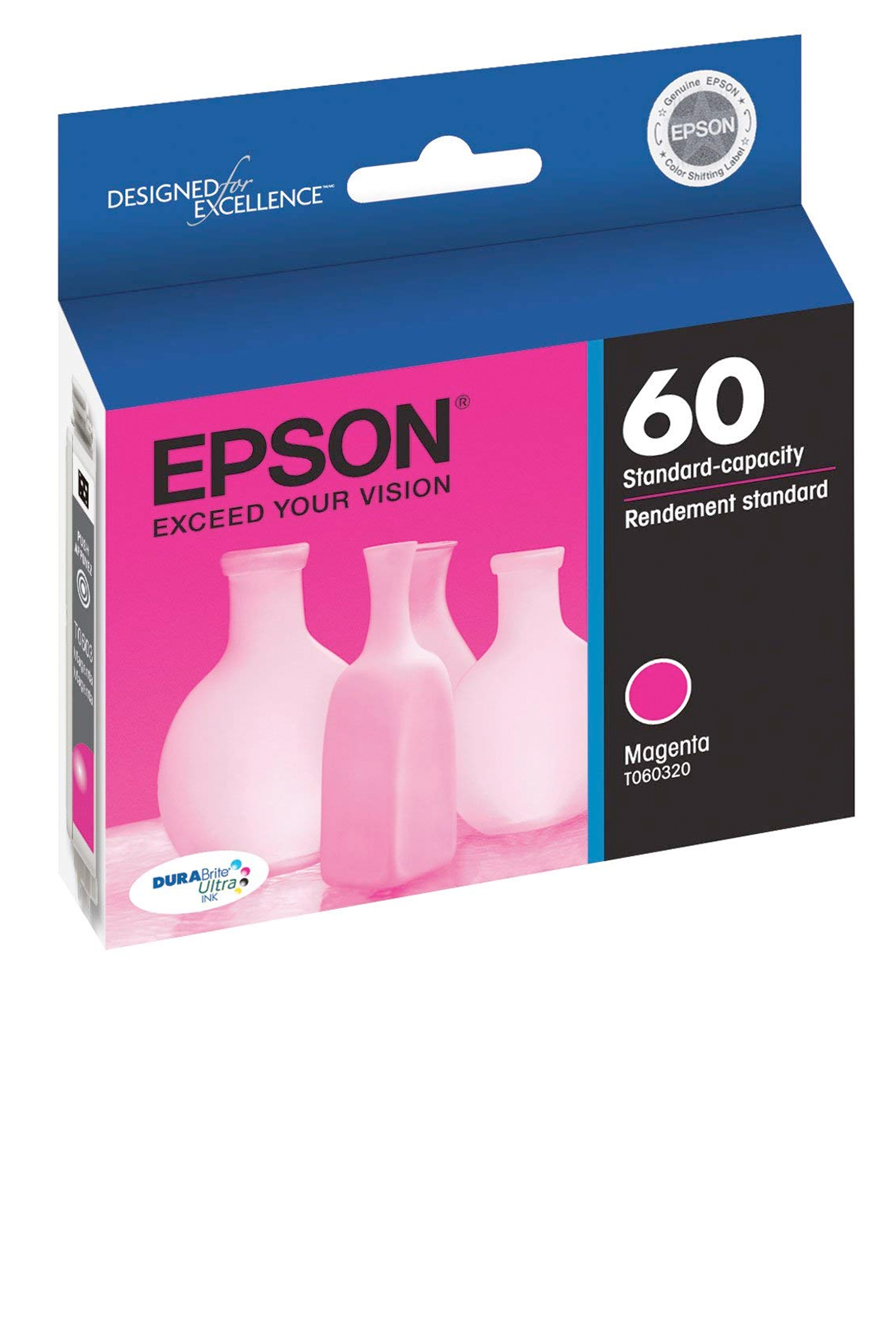 Epson 60, Magenta Ink CartridgE (T060320-S)
