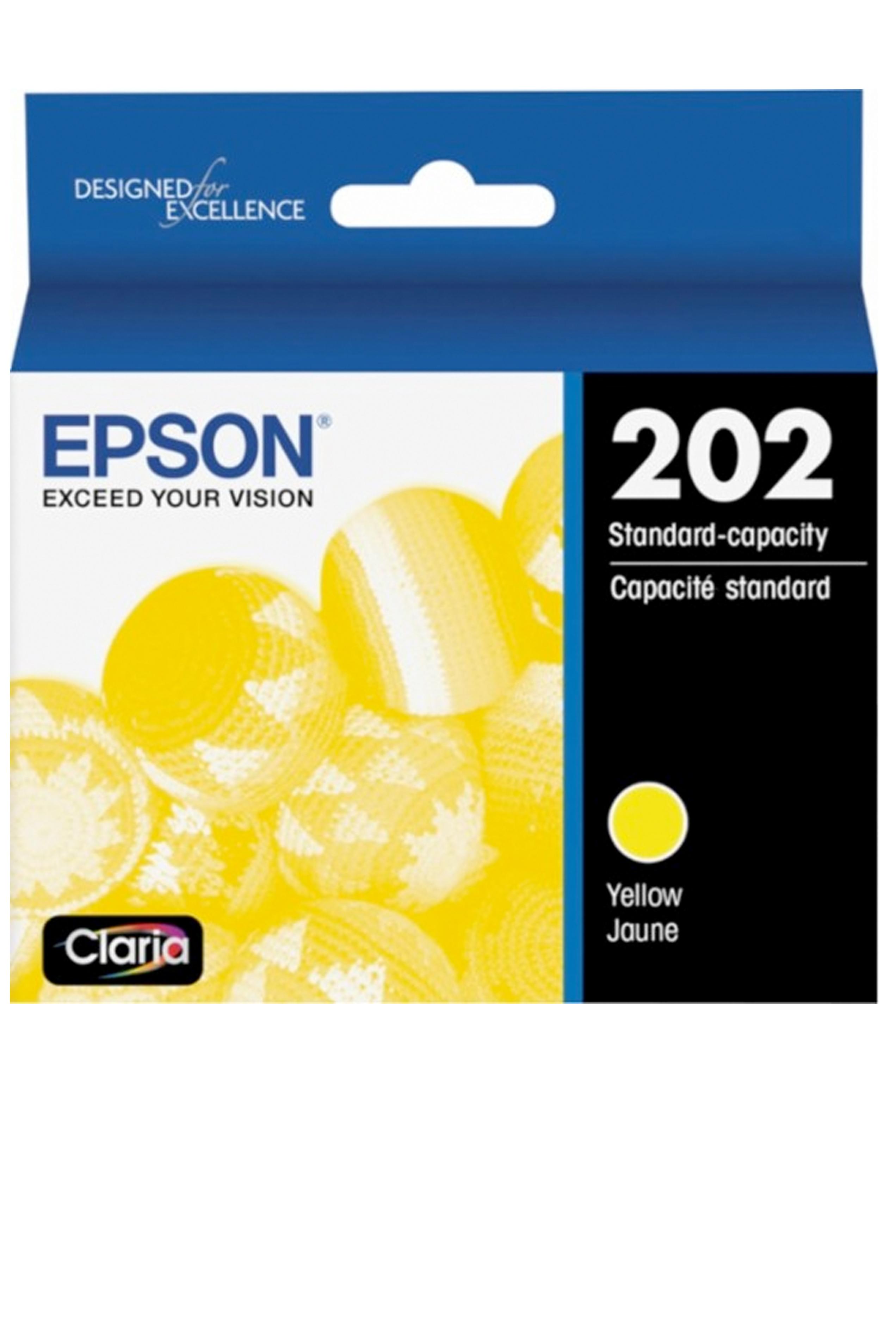 Epson 202, Yellow Ink Cartridge (T202420-S)