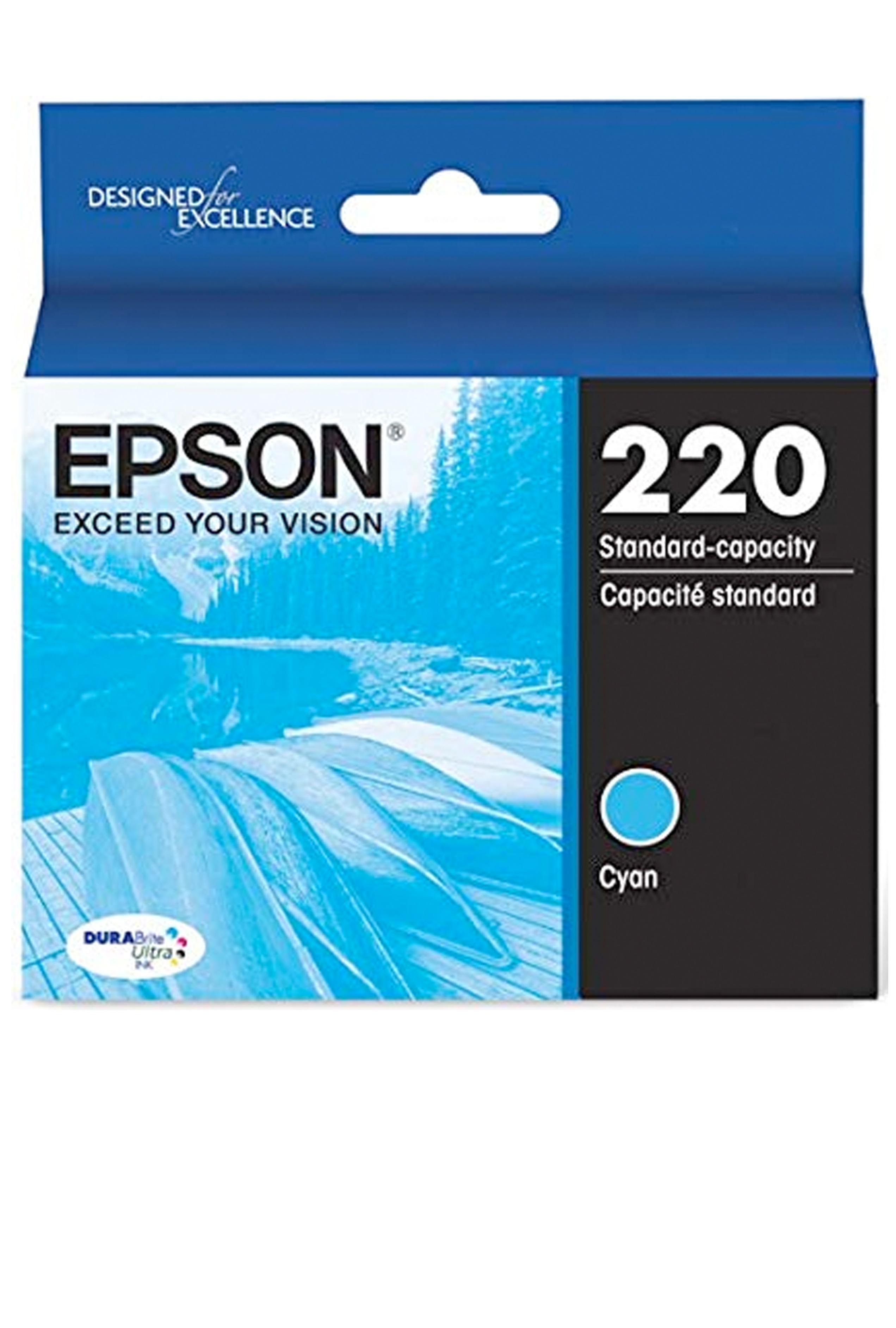 Epson 220, Cyan Ink Cartridge (T220220-S)