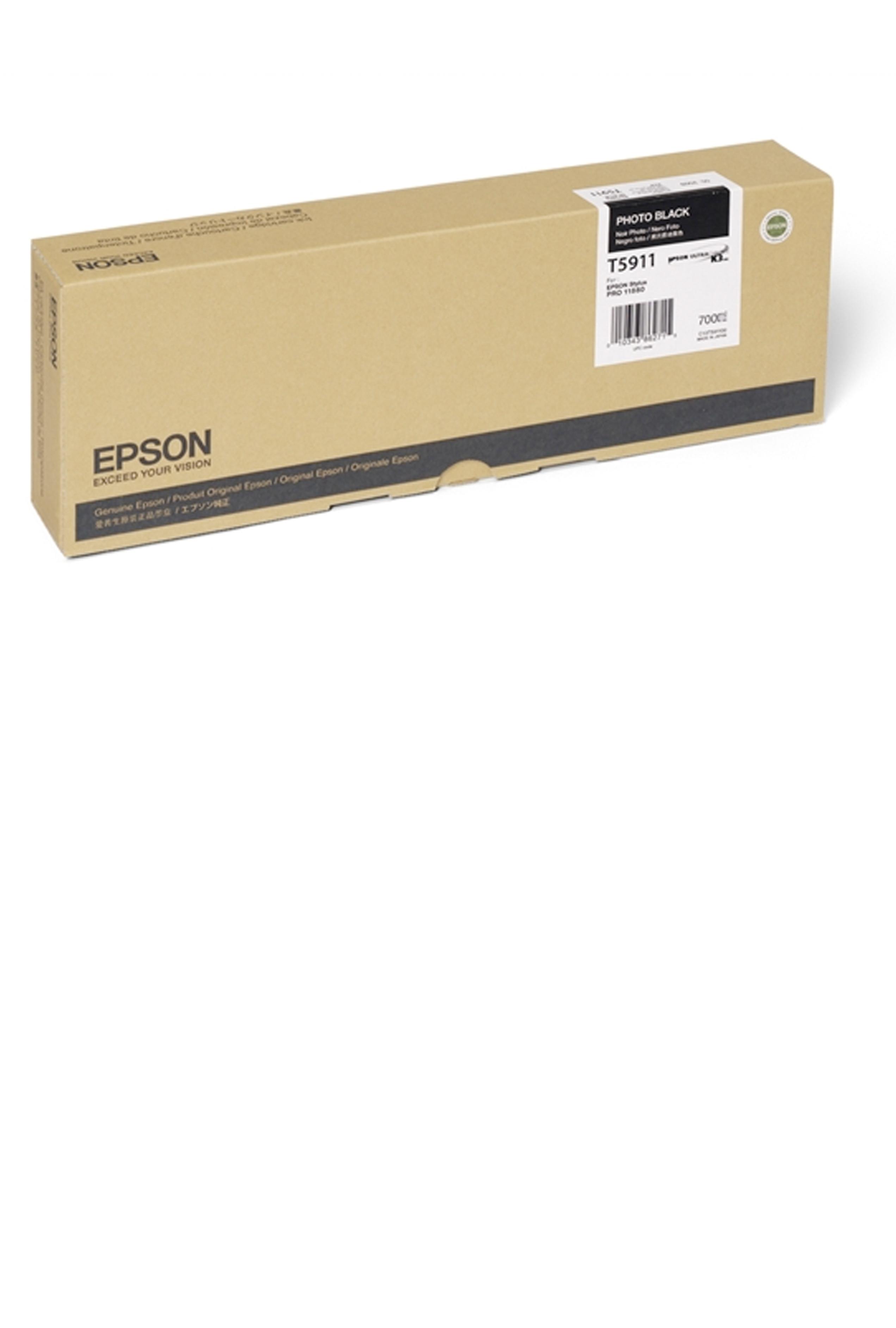 Epson EPSON HI PHOTO BLACK INK (700 ML) (T591100)