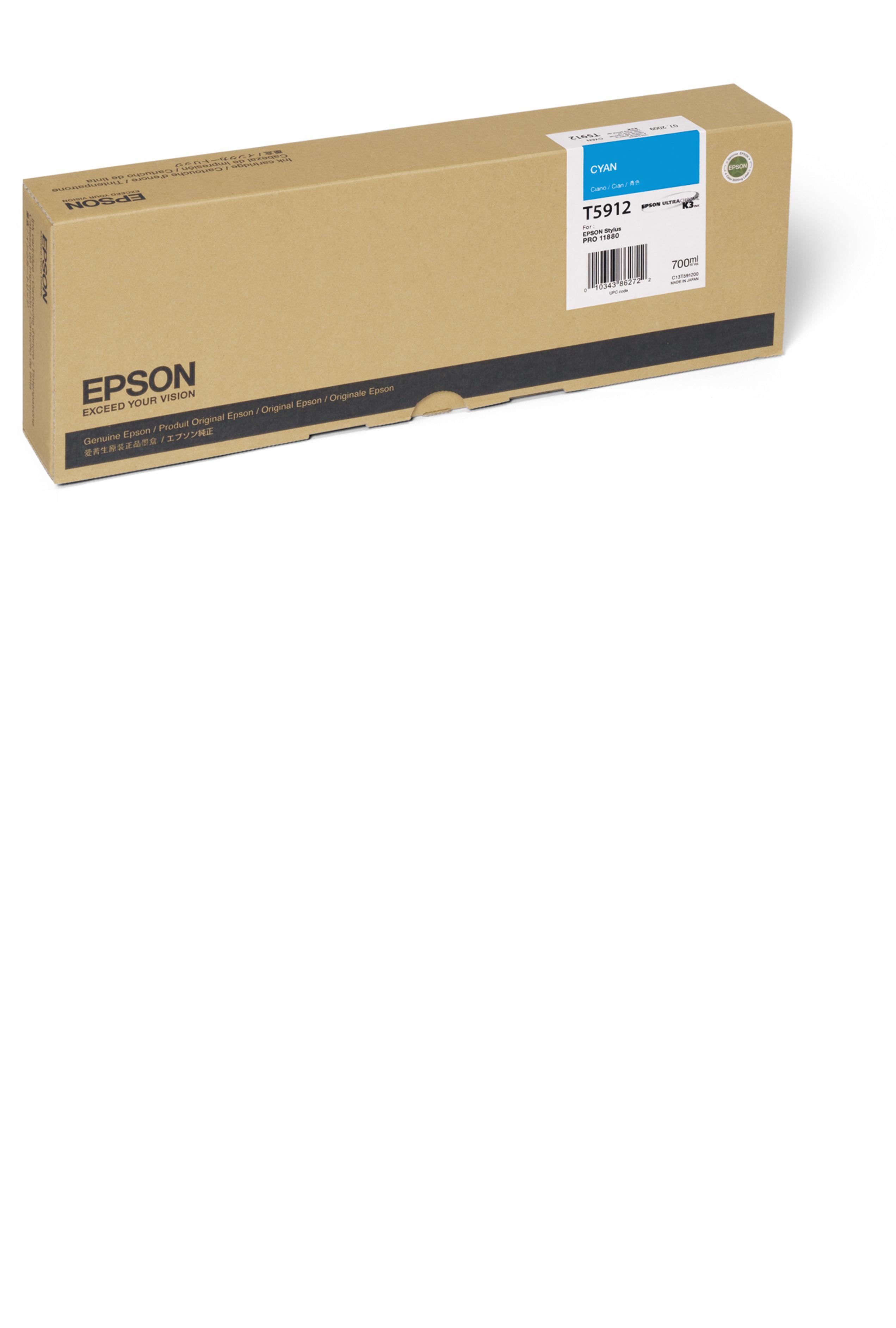Epson EPSON HI CYAN INK (700 ML) (T591200)