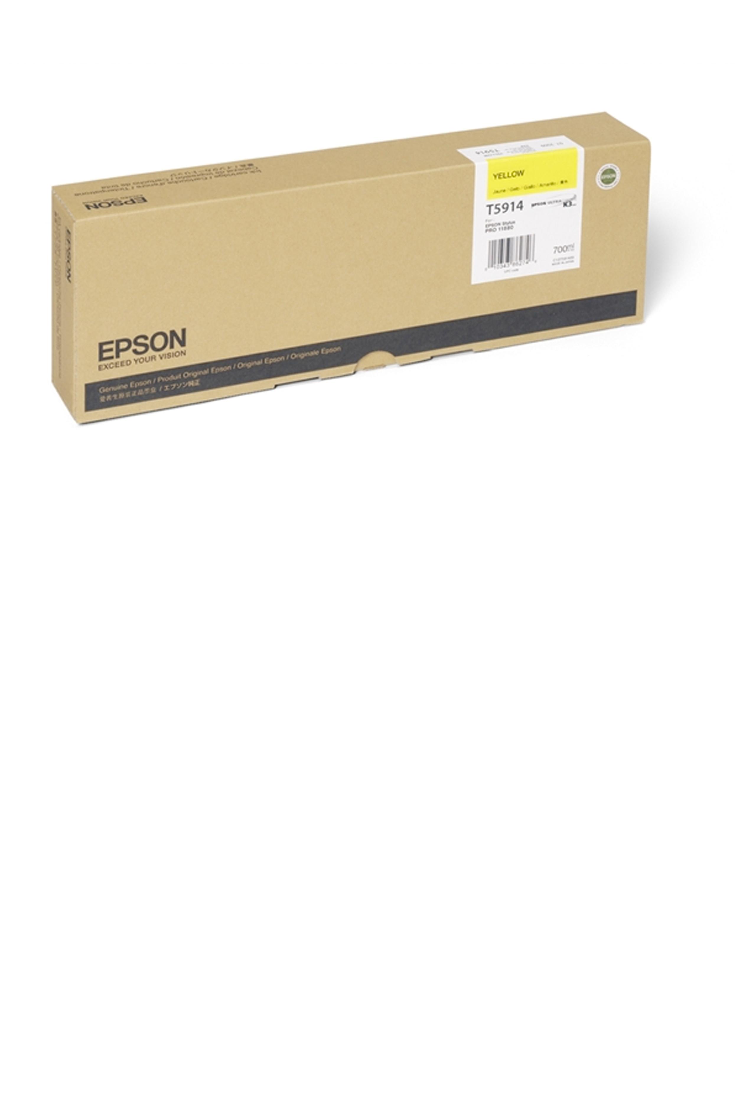 Epson EPSON HI YELLOW INK (700 ML) (T591400)
