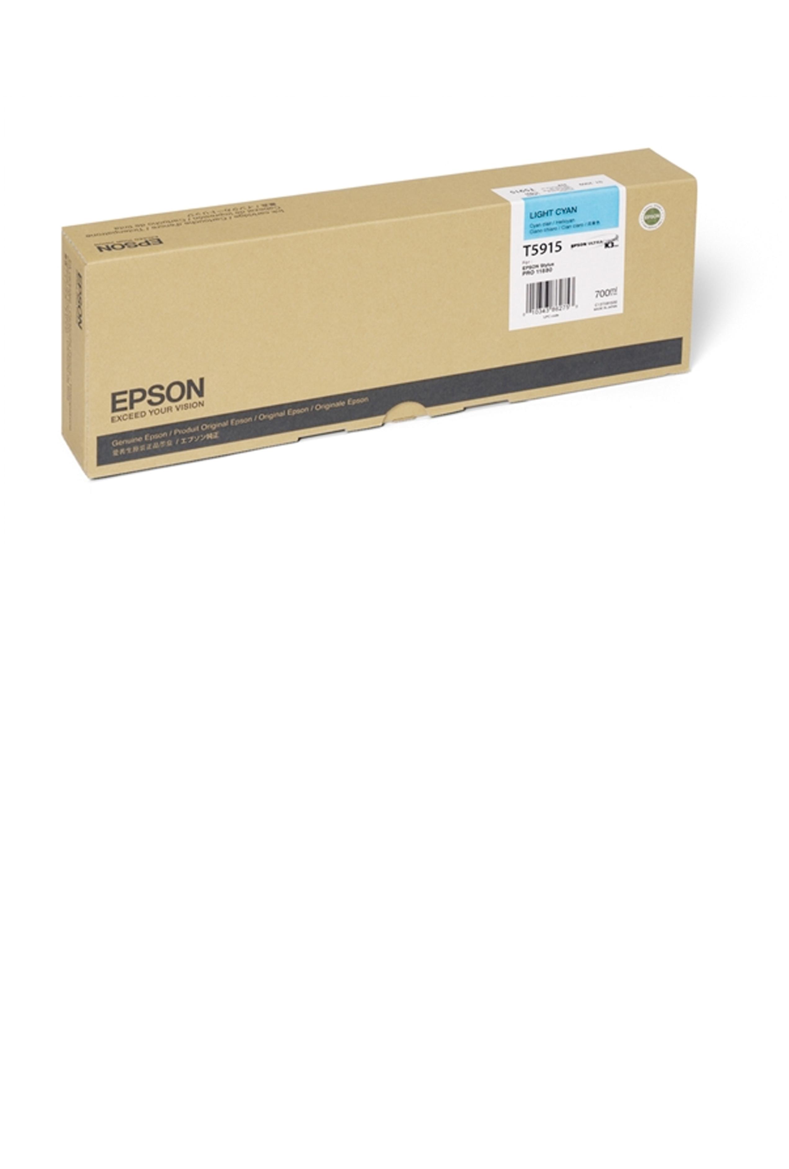 Epson EPSON HI LT CYAN INK (700 ML) (T591500)