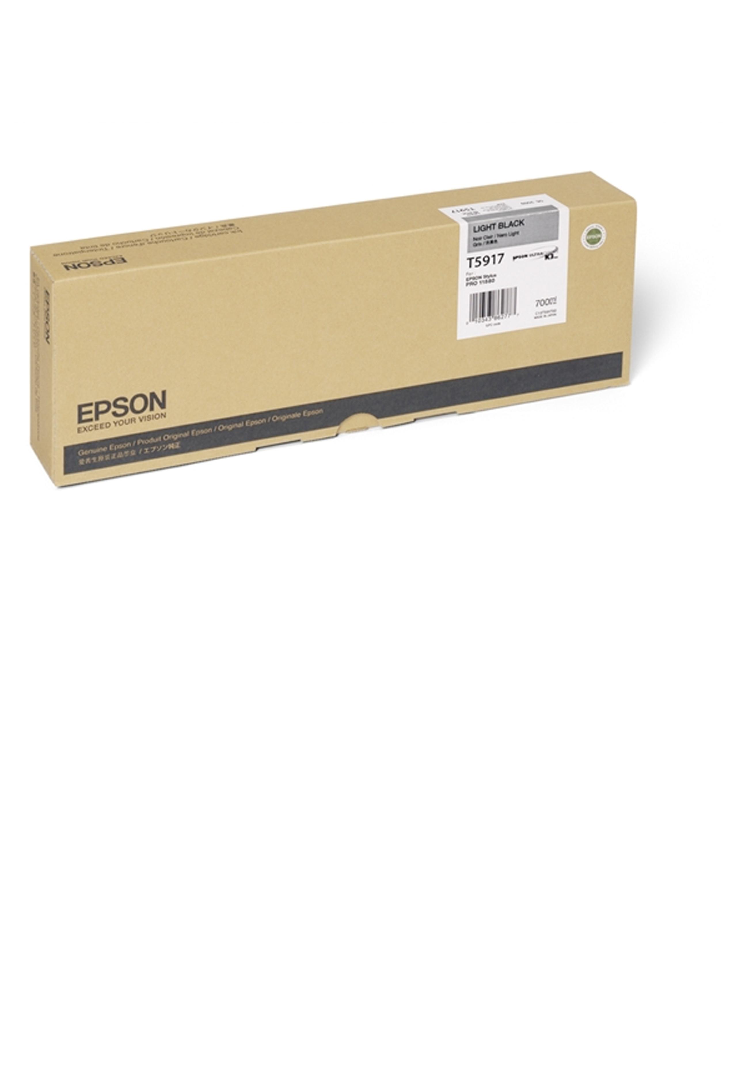 Epson EPSON HI LT BLACK INK (700 ML) (T591700)