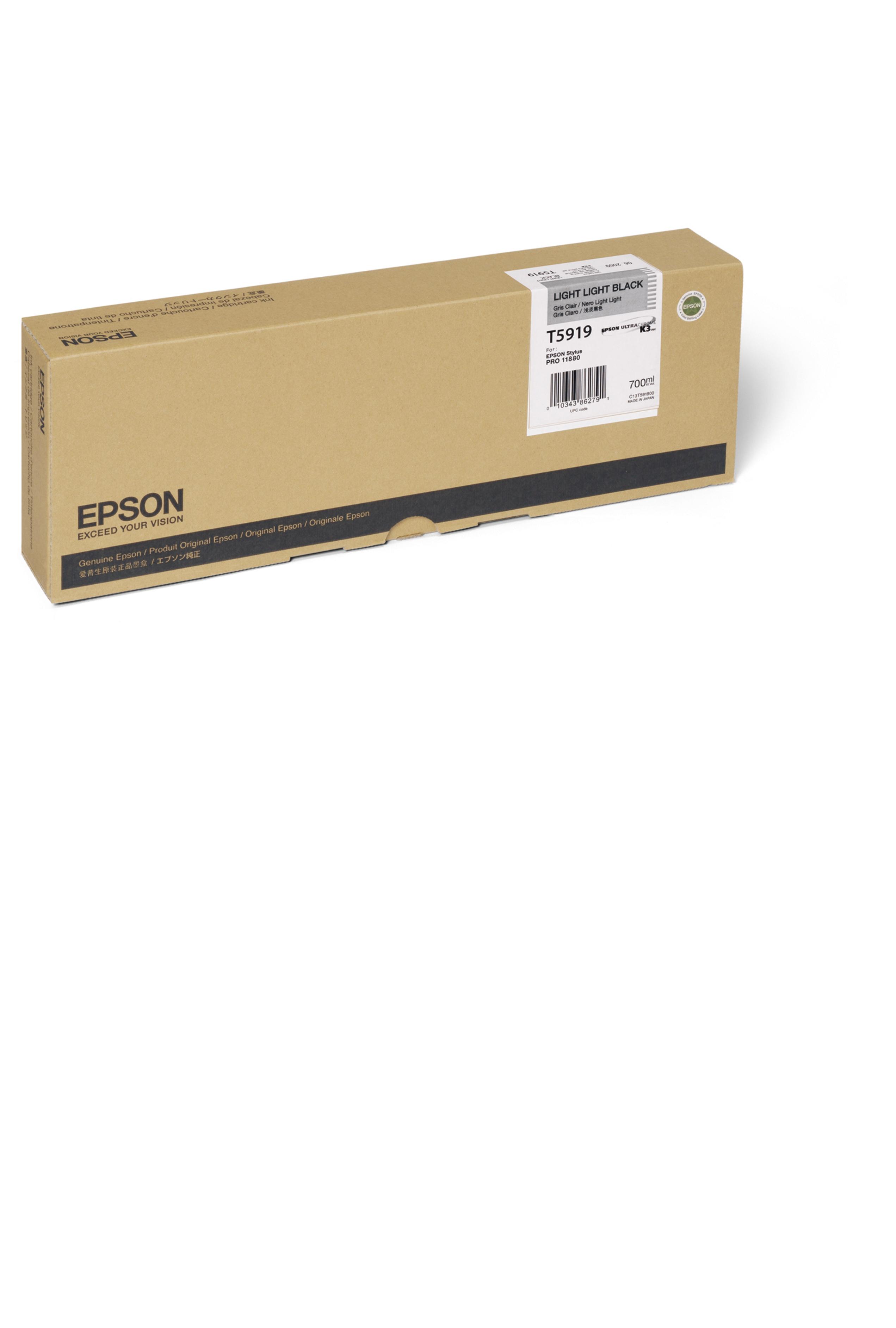 Epson EPSON HI LT LT BLACK INK (700 ML) (T591900)