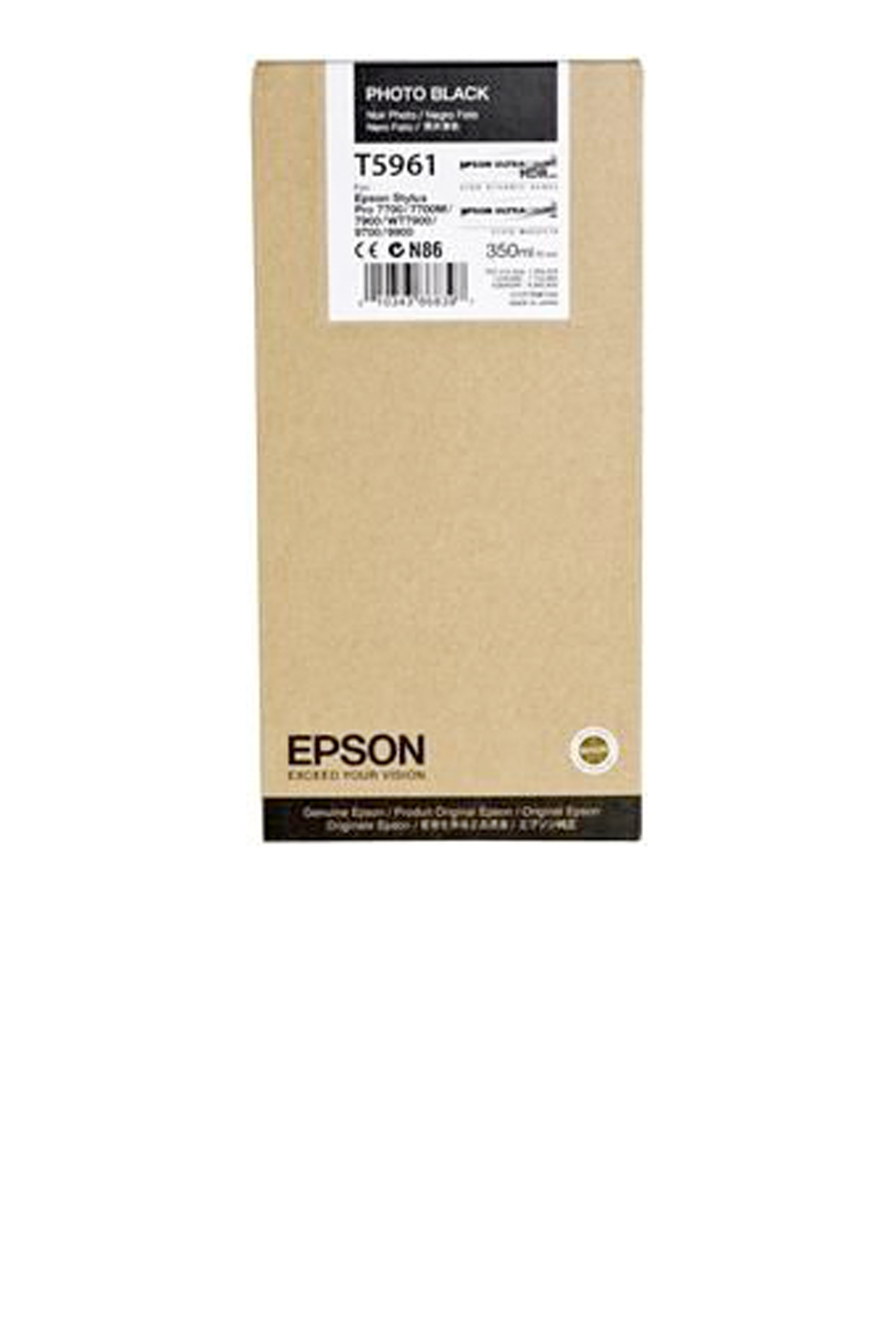 Epson EPSON SD PHOTO BLACK INK (350 ML) (T596100)