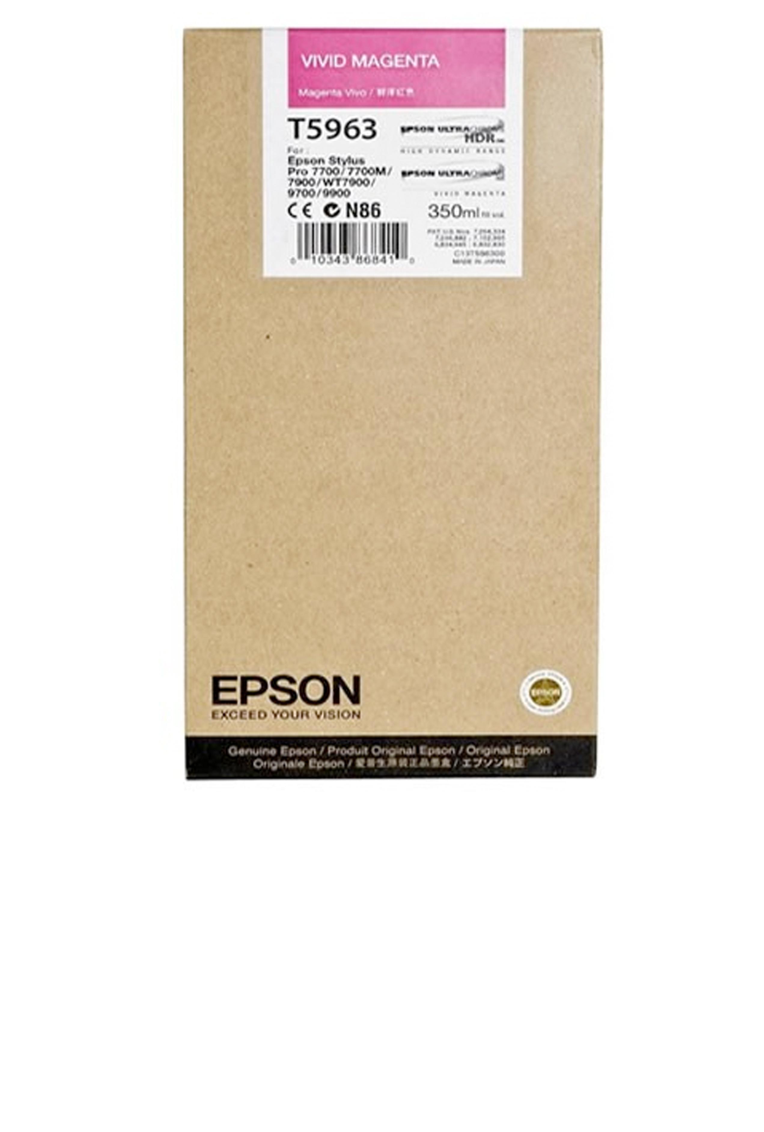 Epson EPSON SD VIVID MAGENTA INK (350 ML) (T596300)