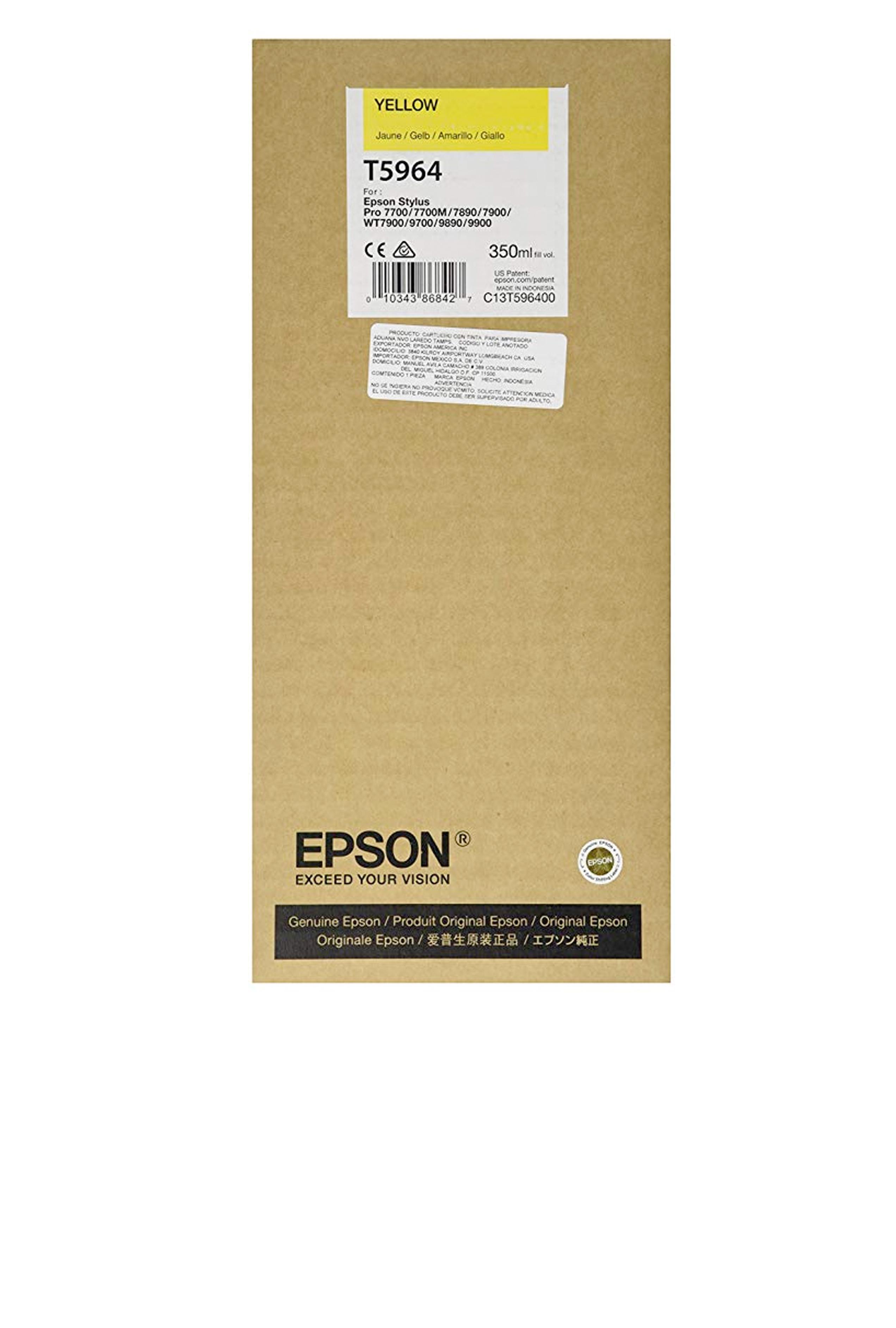 Epson EPSON SD YELLOW INK (350 ML) (T596400)
