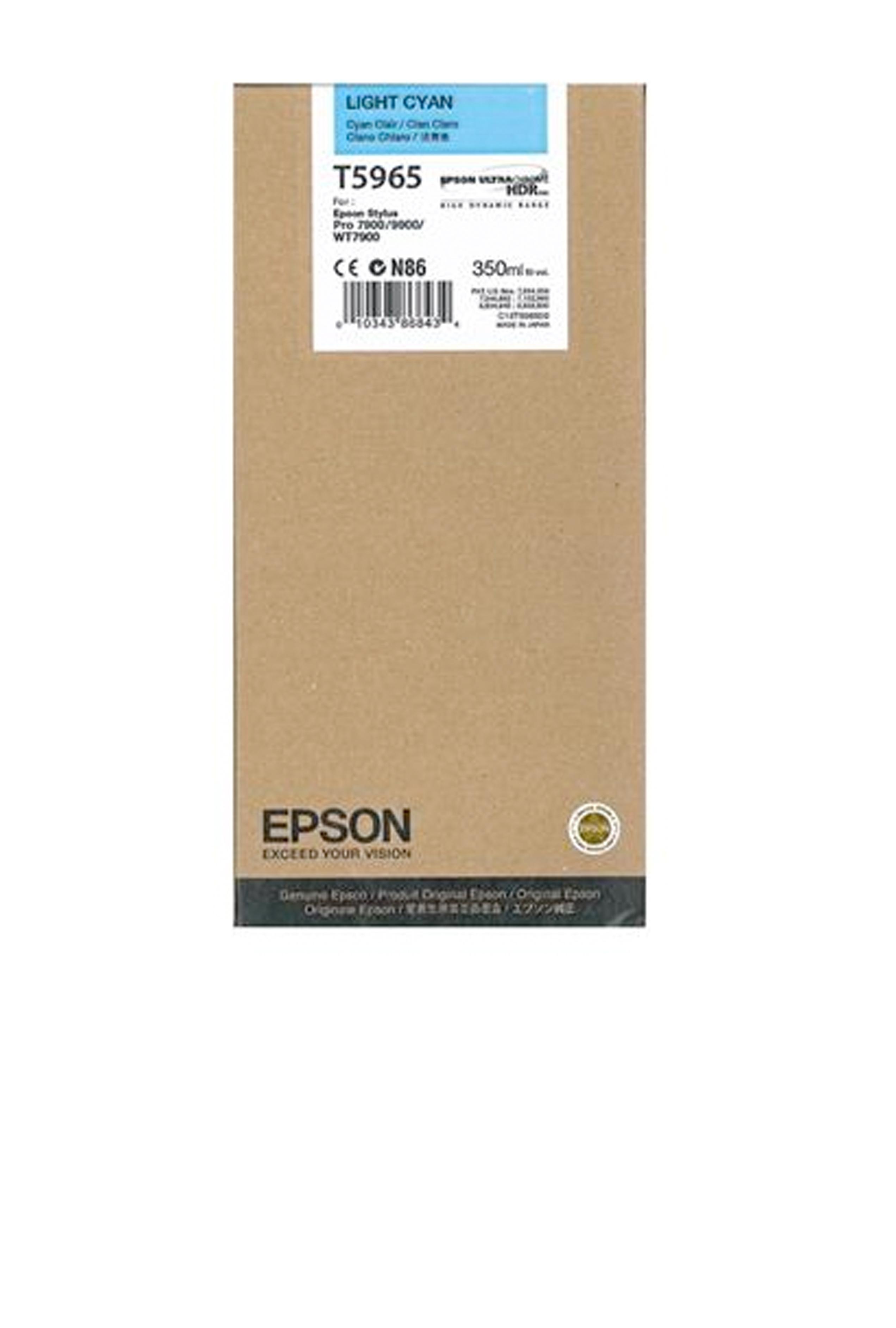 Epson EPSON SD LT CYAN INK (350 ML) (T596500)