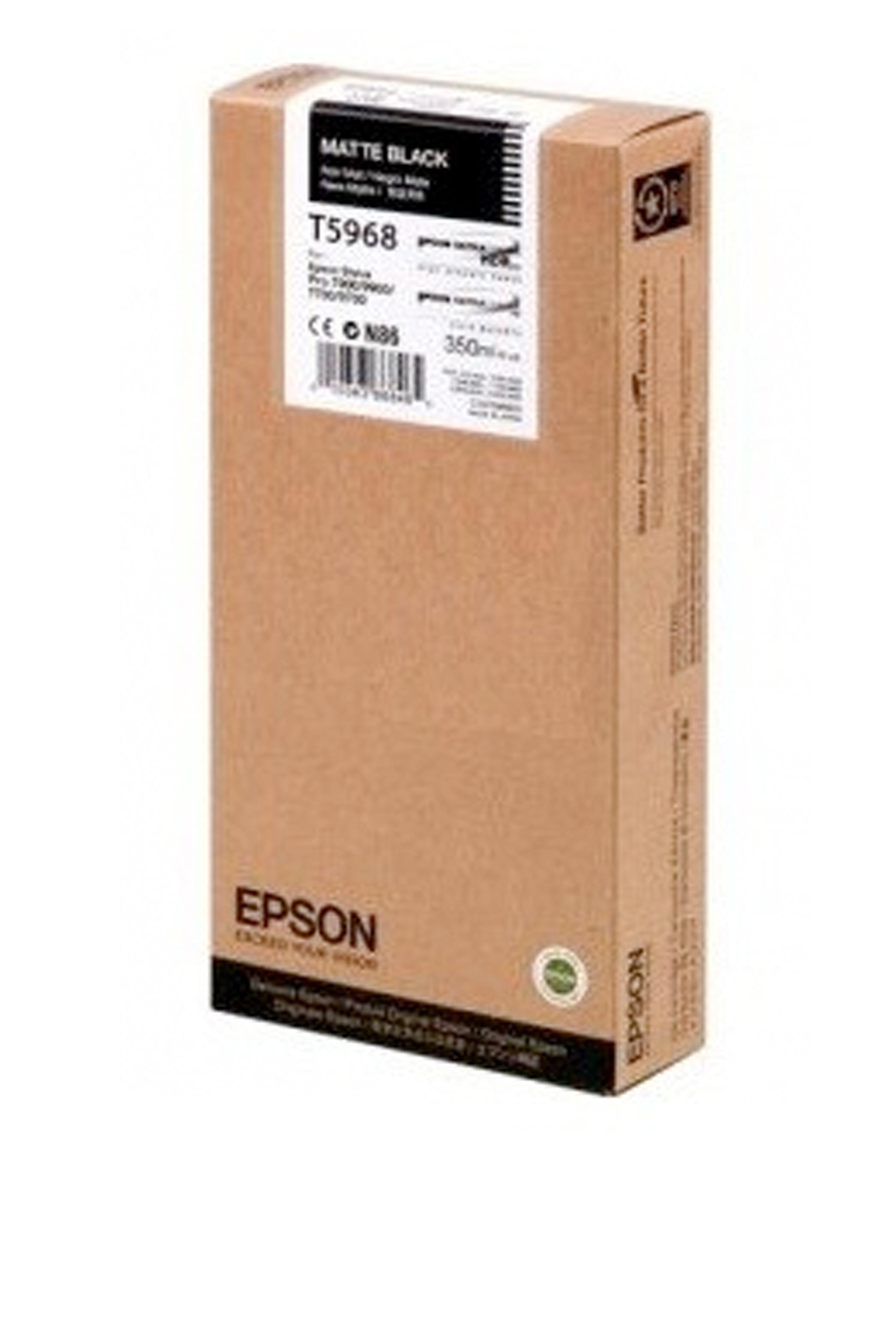 Epson EPSON SD MATTE BLACK INK (350 ML) (T596800)