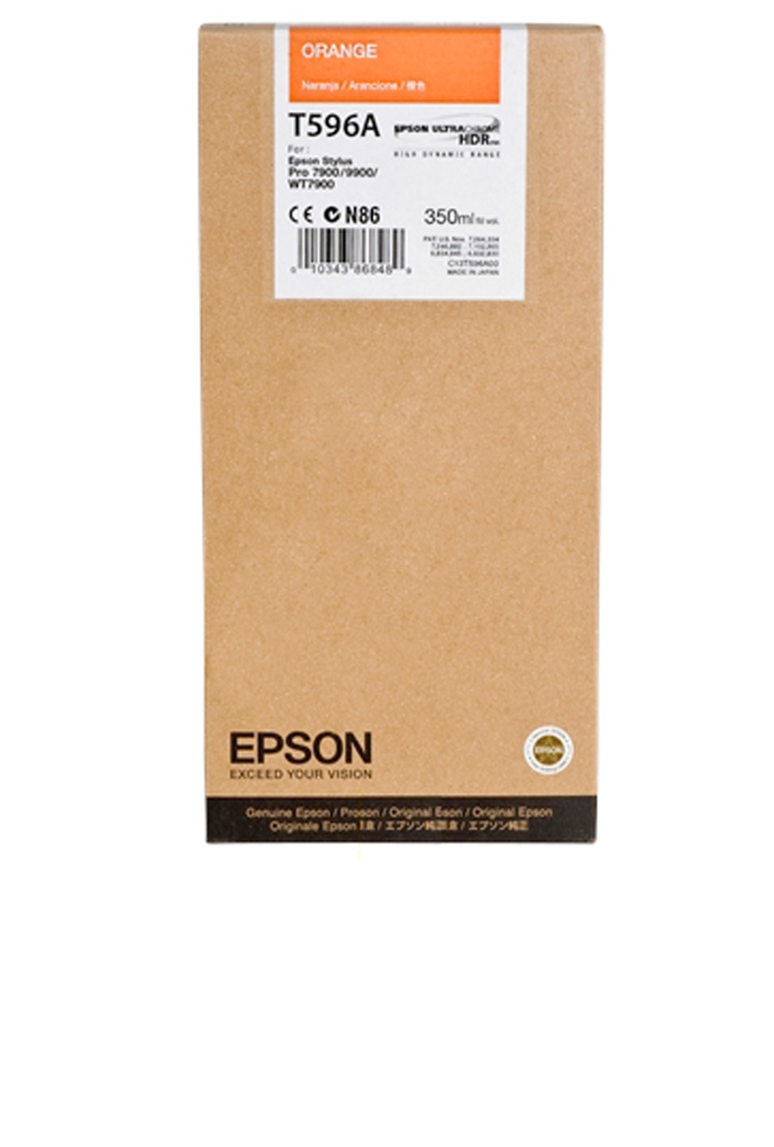 Epson EPSON SD ORANGE INK (350 ML) (T596A00)