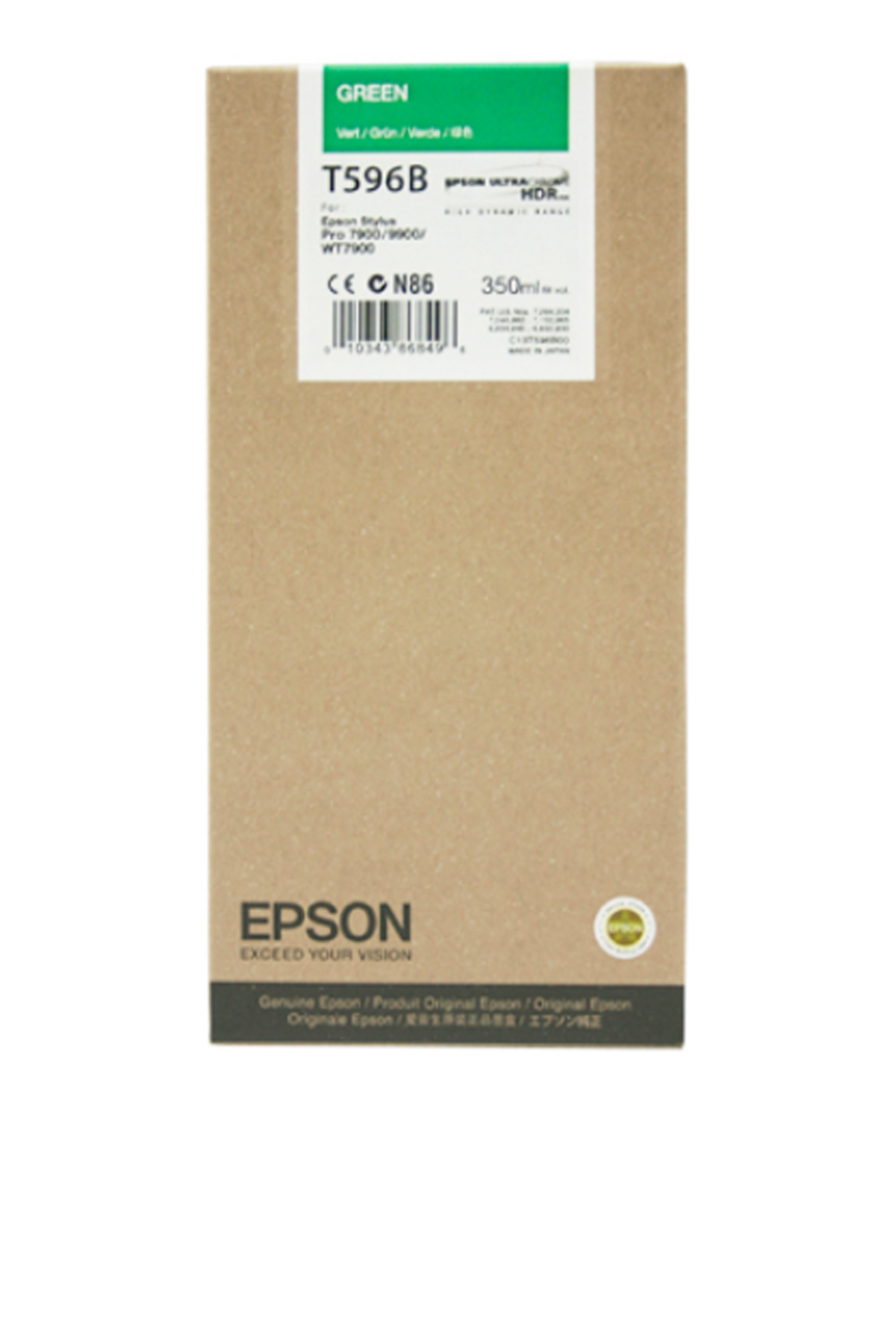 Epson EPSON SD GREEN INK (350 ML) (T596B00)