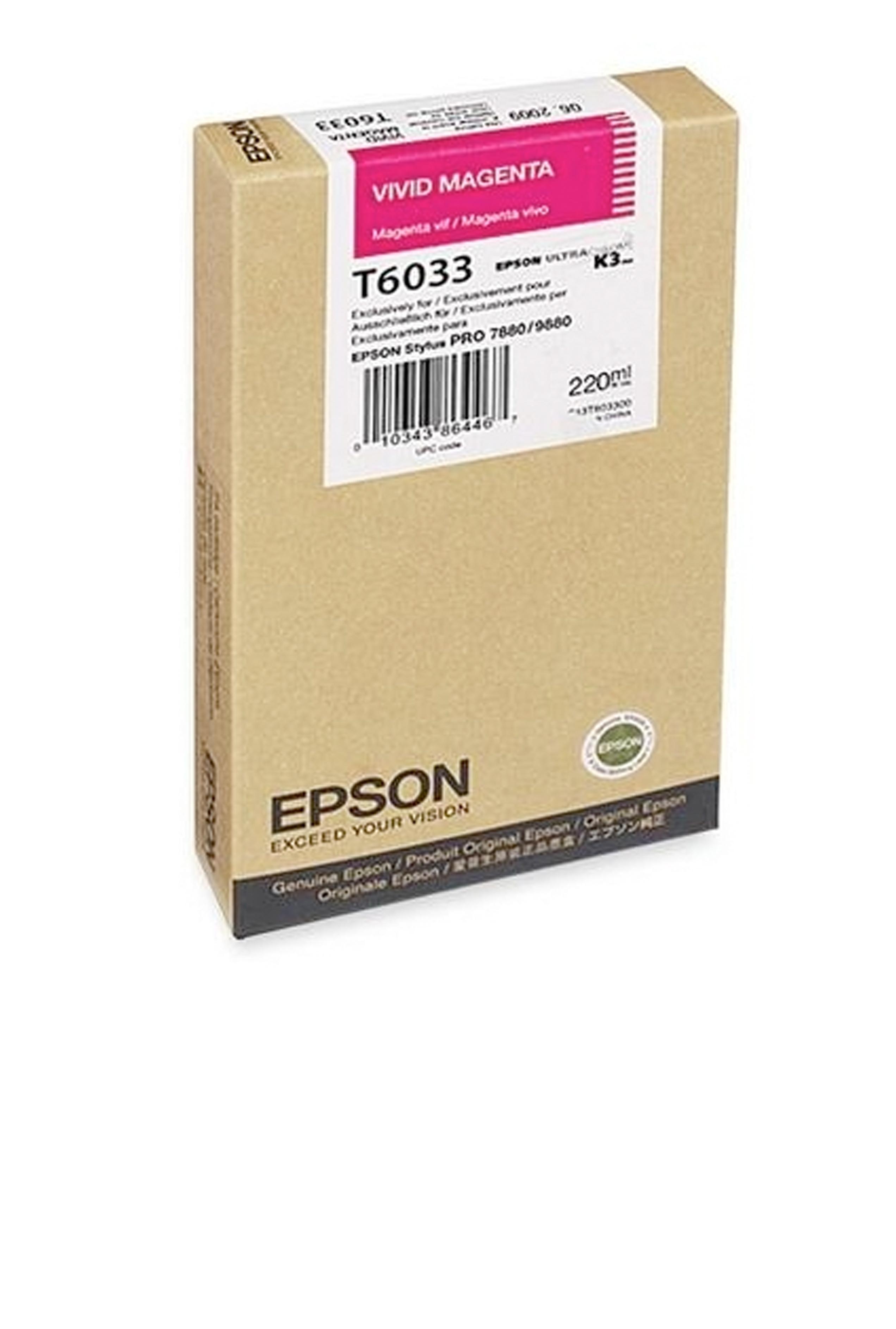 Epson EPSON SD VIVID MAGENTA INK (220 ML) (T603300)