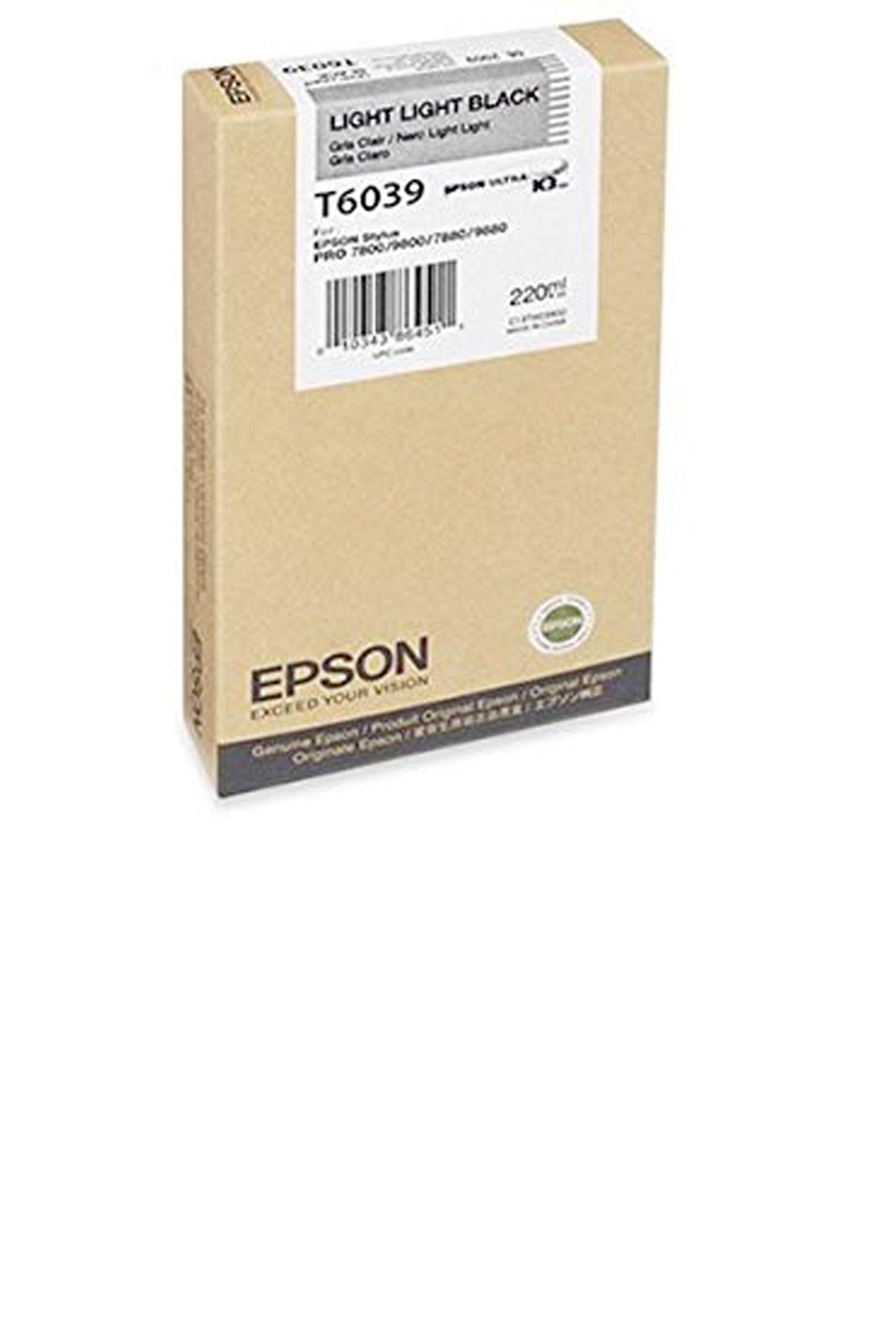 Epson EPSON SD LT LT BLACK INK (220 ML) (T603900)