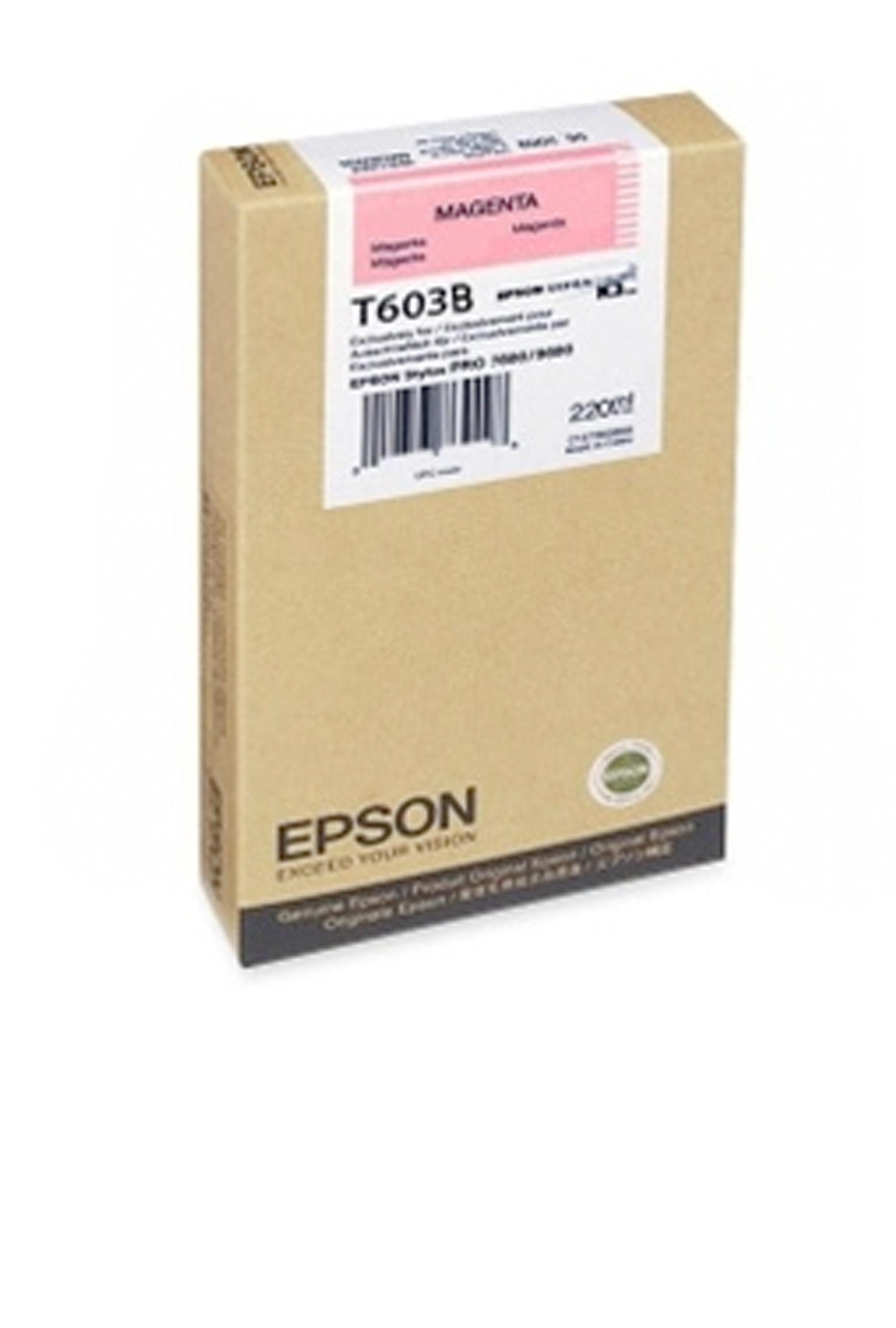 Epson EPSON SD MAGENTA INK (220 ML) (T603B00)