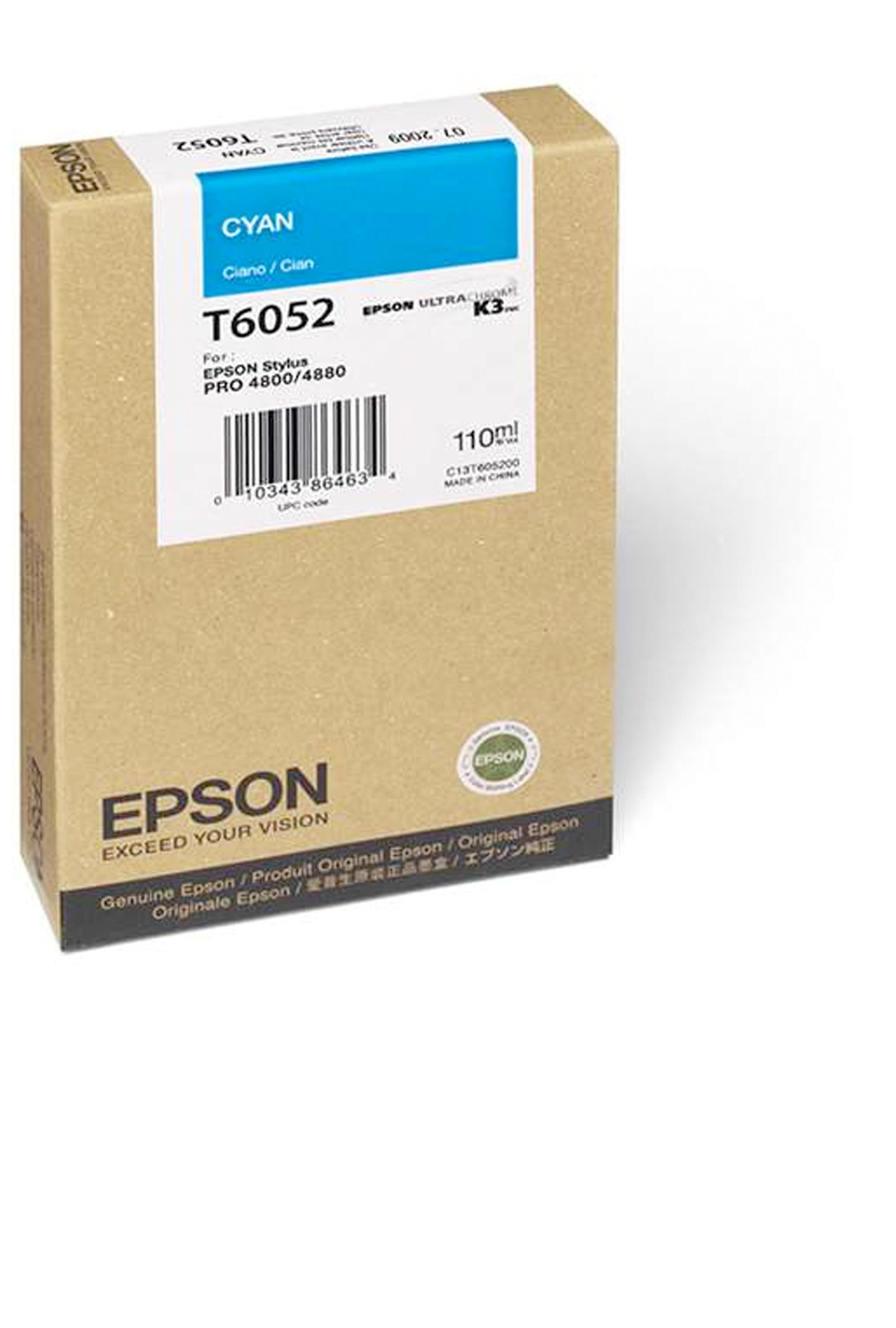 Epson EPSON SD CYAN INK (110 ML) (T605200)