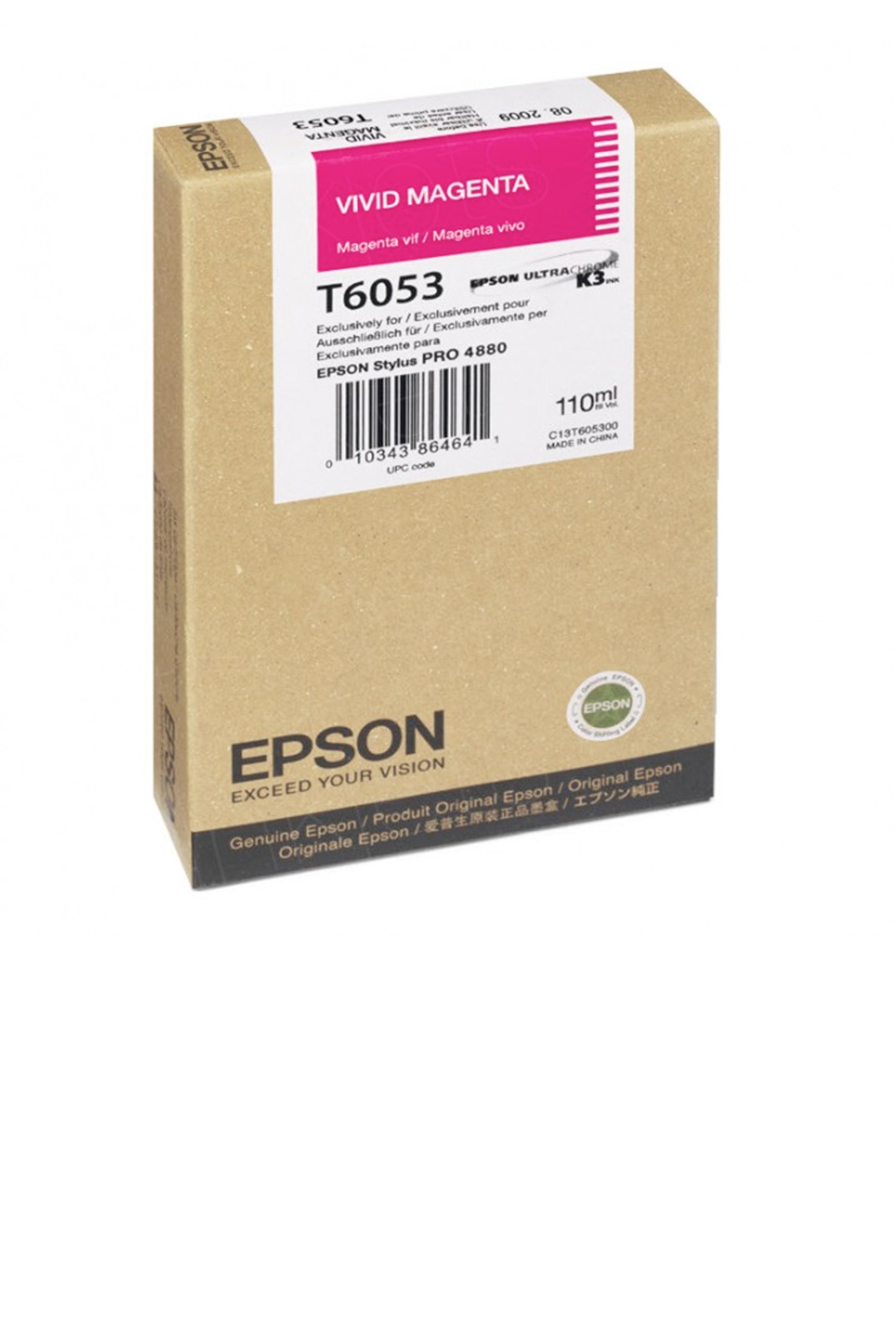 Epson EPSON SD VIVID MAGENTA INK (110 ML) (T605300)