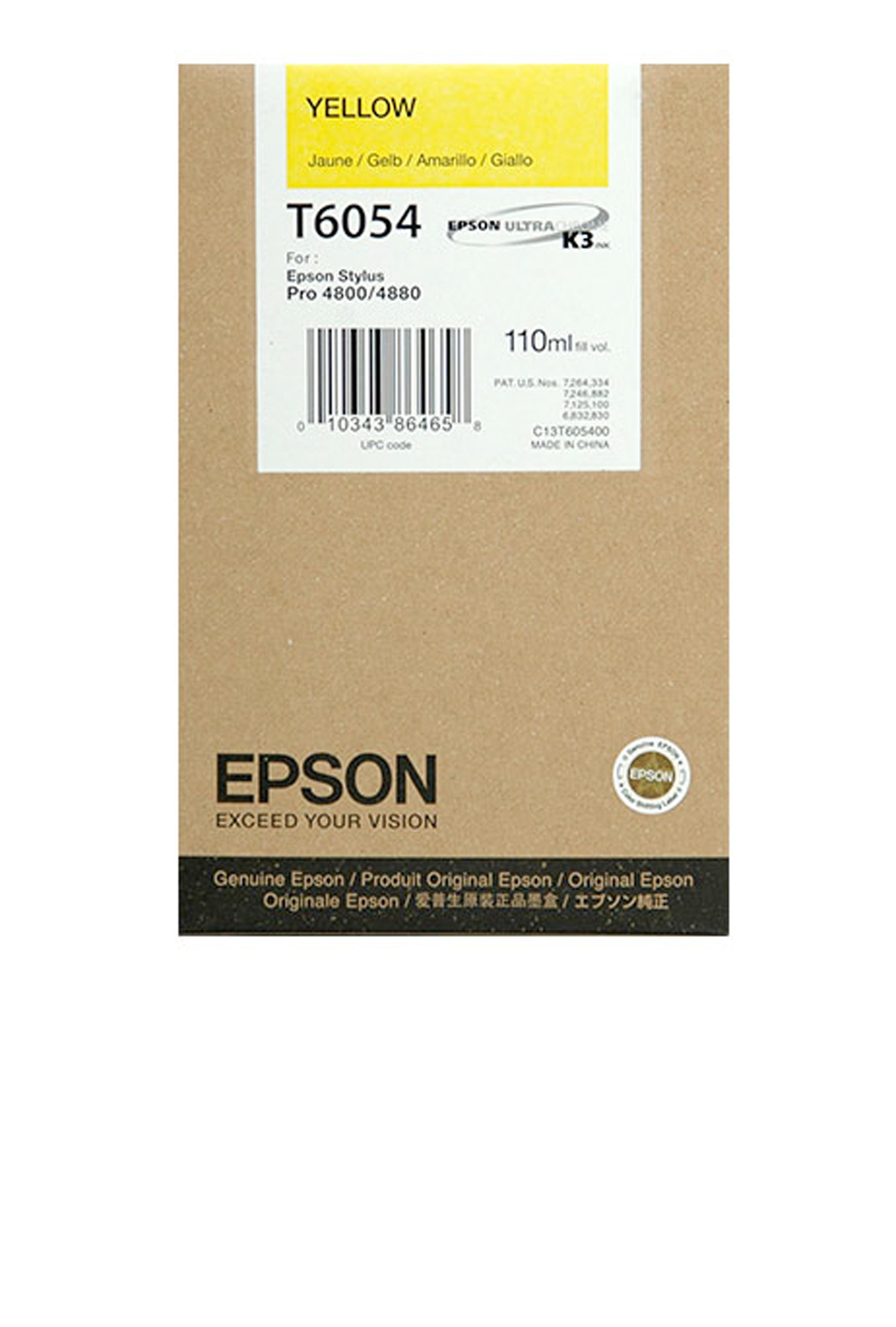 Epson EPSON SD YELLOW INK (110 ML) (T605400)