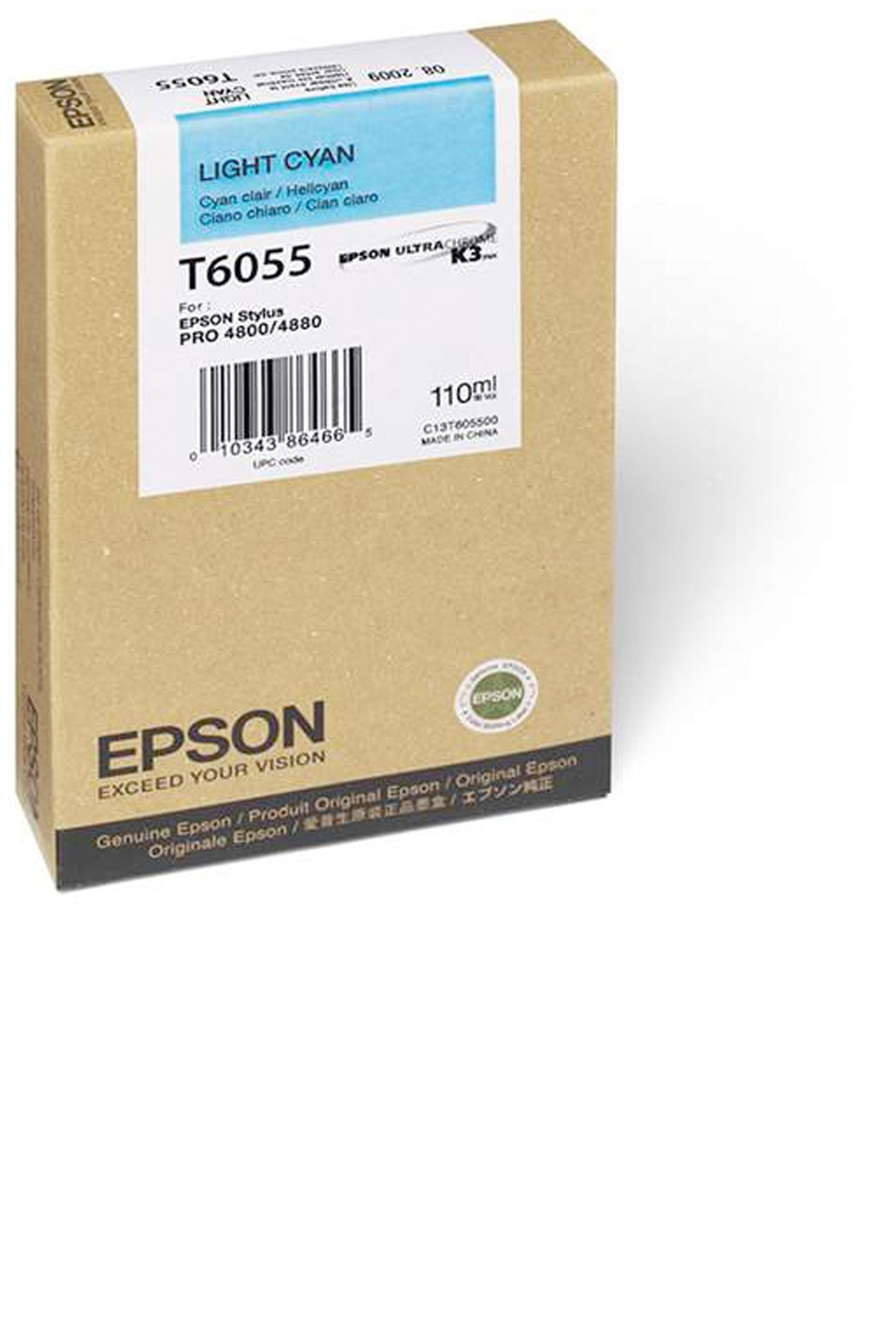 Epson EPSON SD LT CYAN INK (110 ML) (T605500)