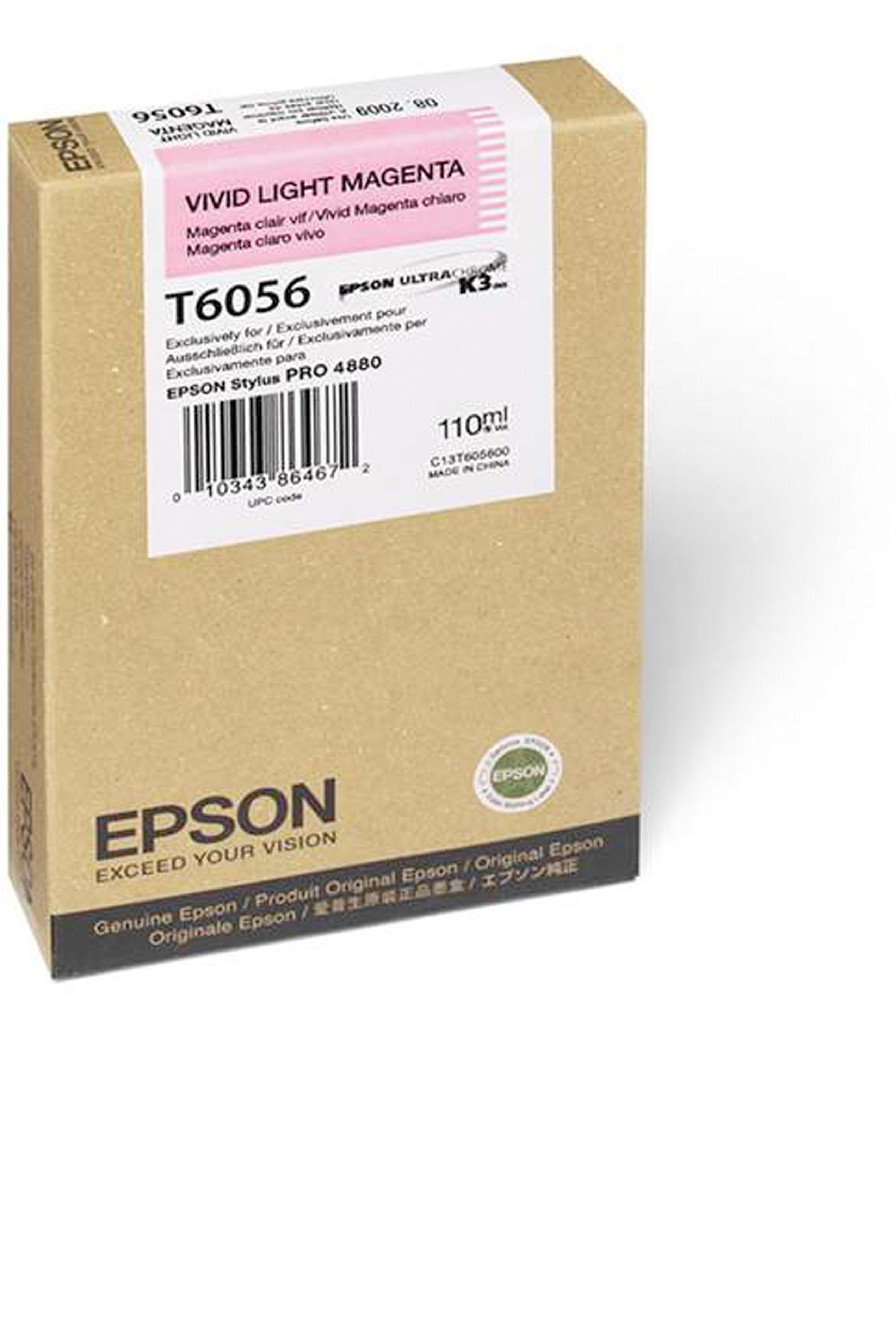 Epson EPSON SD VIVID LT MAGENTA (110 ML) (T605600)