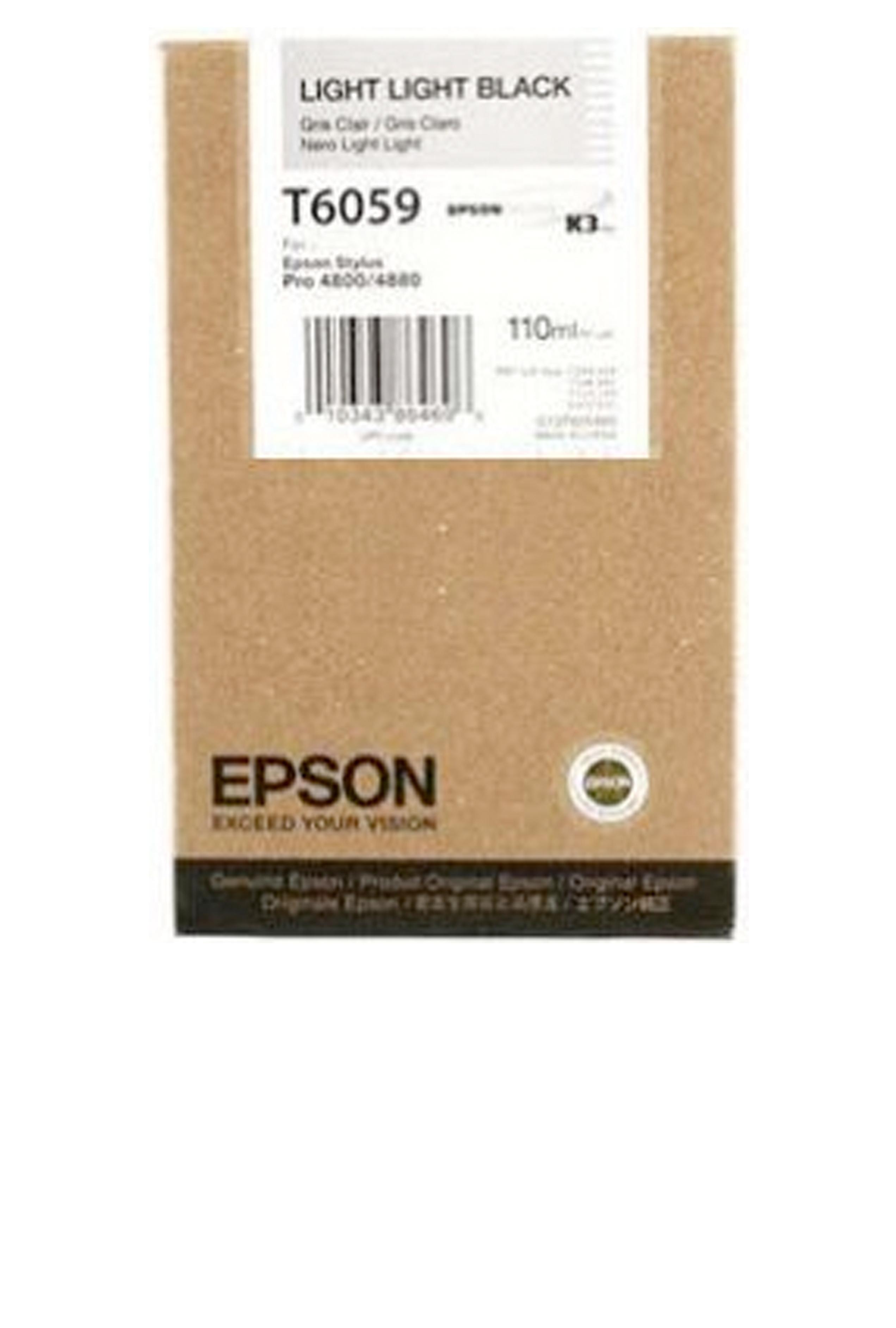 Epson EPSON SD LT LT BLACK INK (110 ML) (T605900)